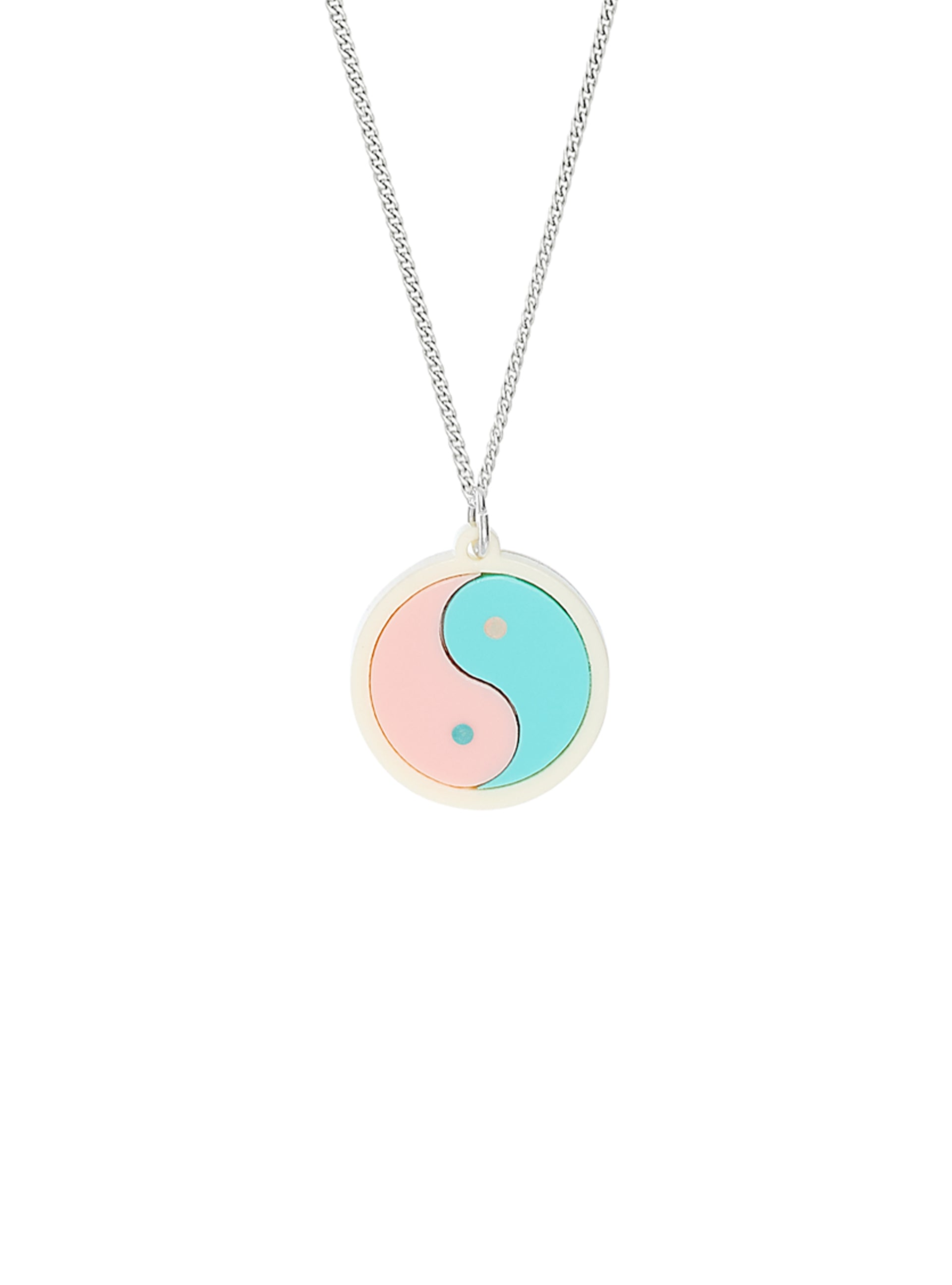 Pastel Yin Yang Necklace