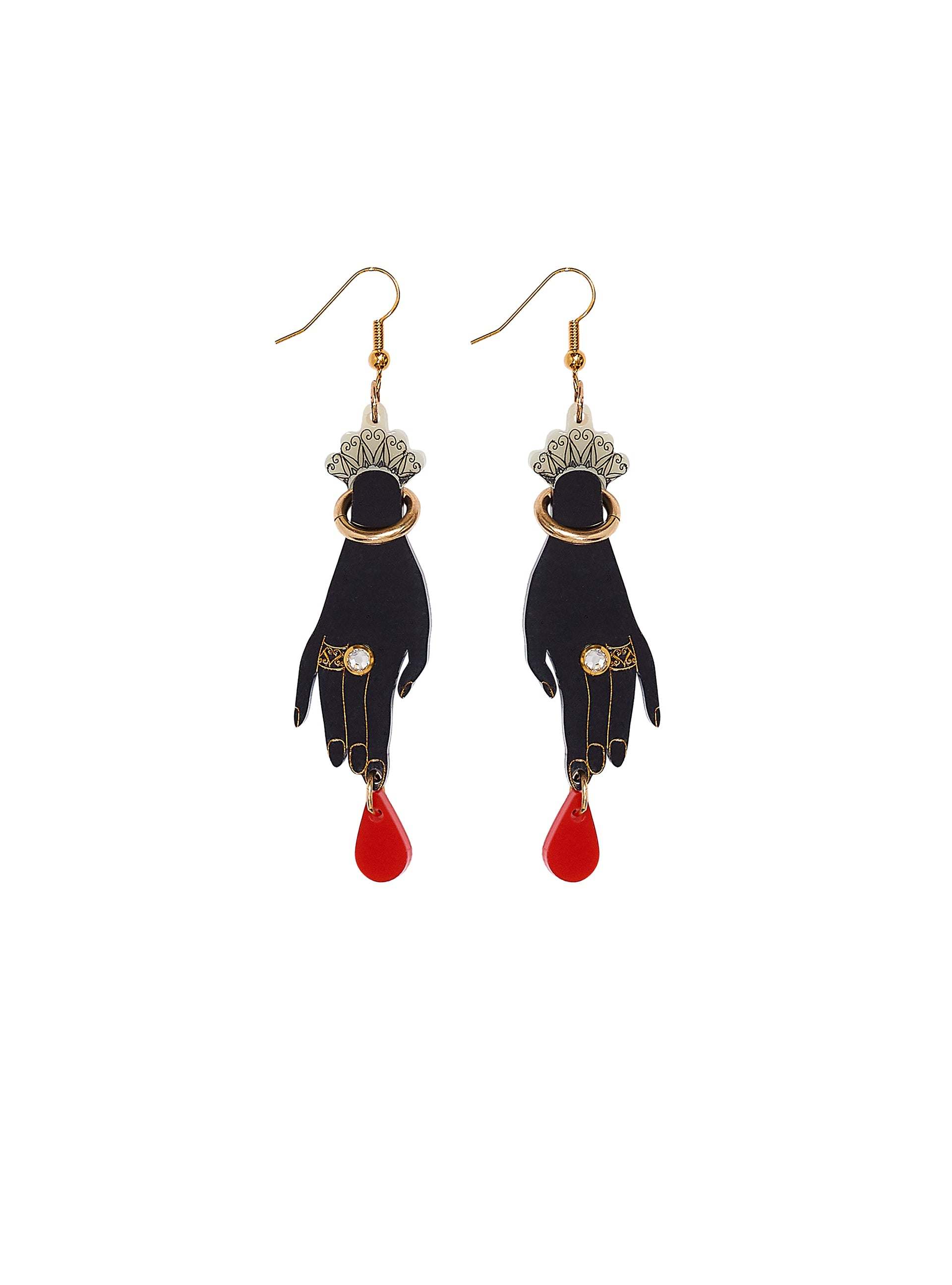 Pricked Finger Earrings
