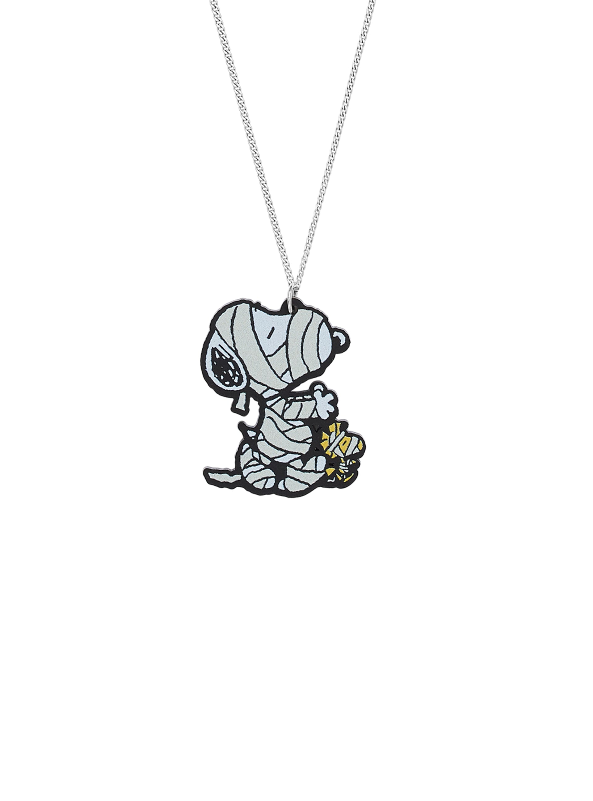 Snoopy and Woodstock Mummy Pendant