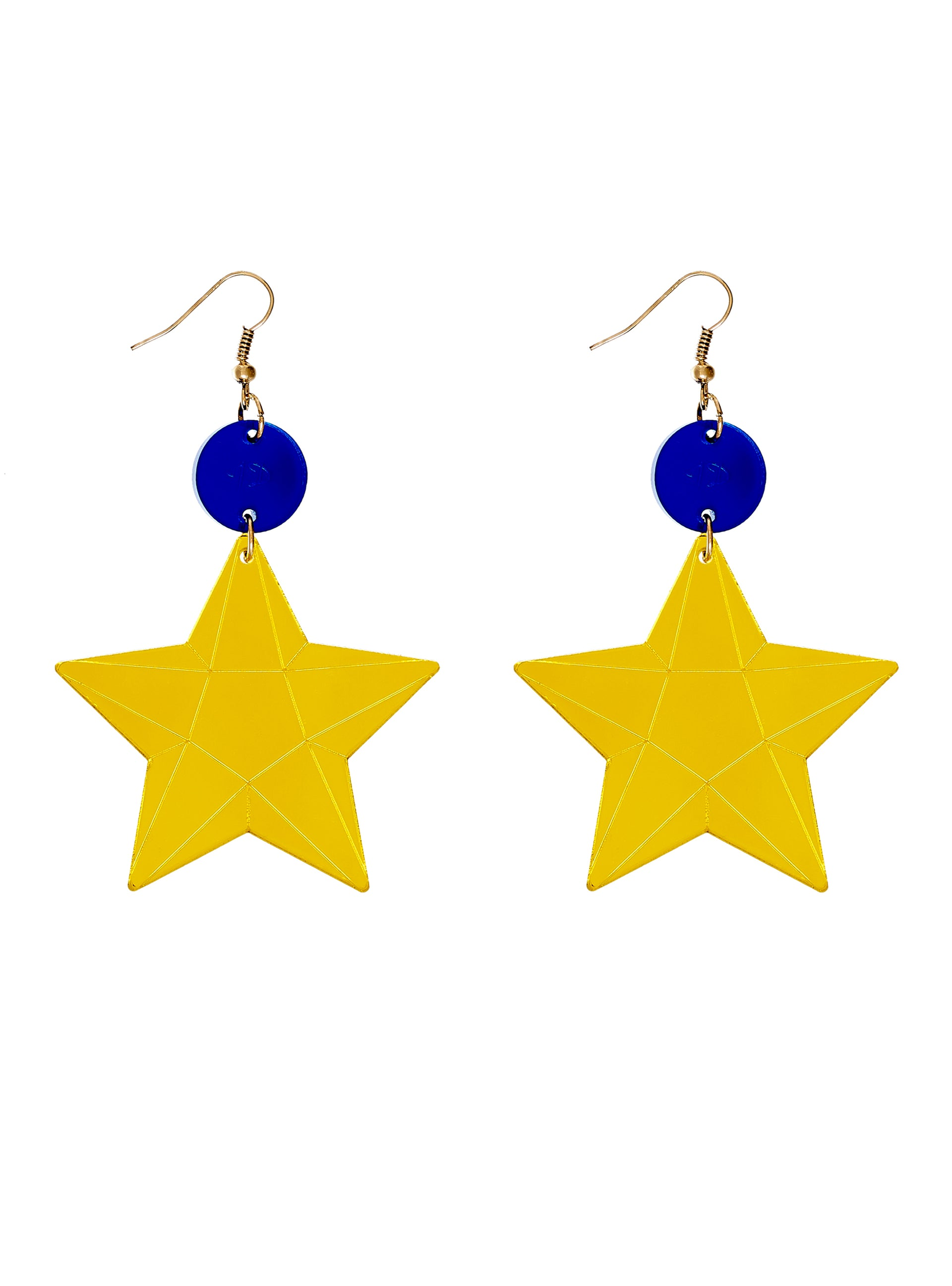 EU and Me Star Earrings