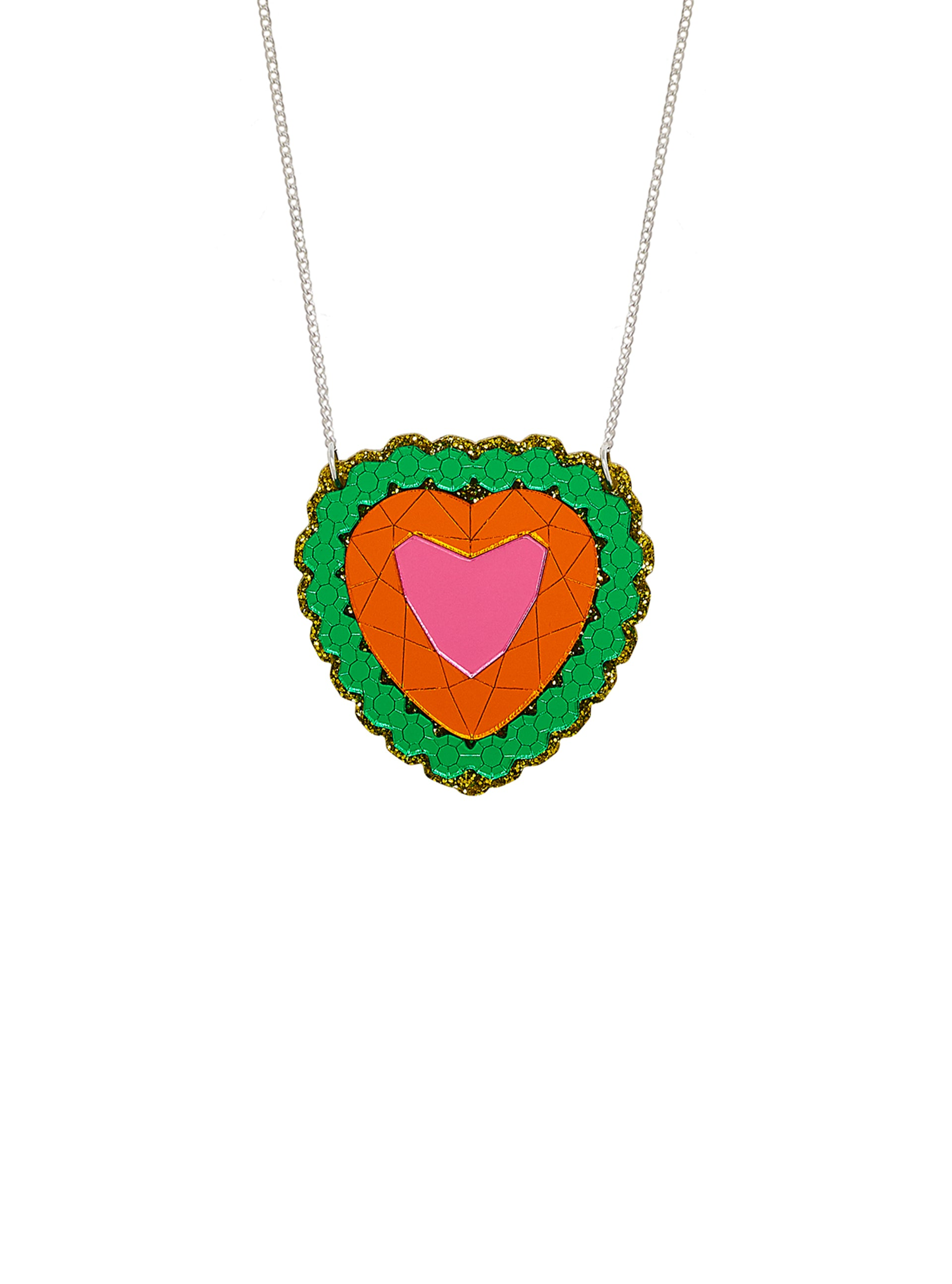 Treasure Chest Heart Necklace