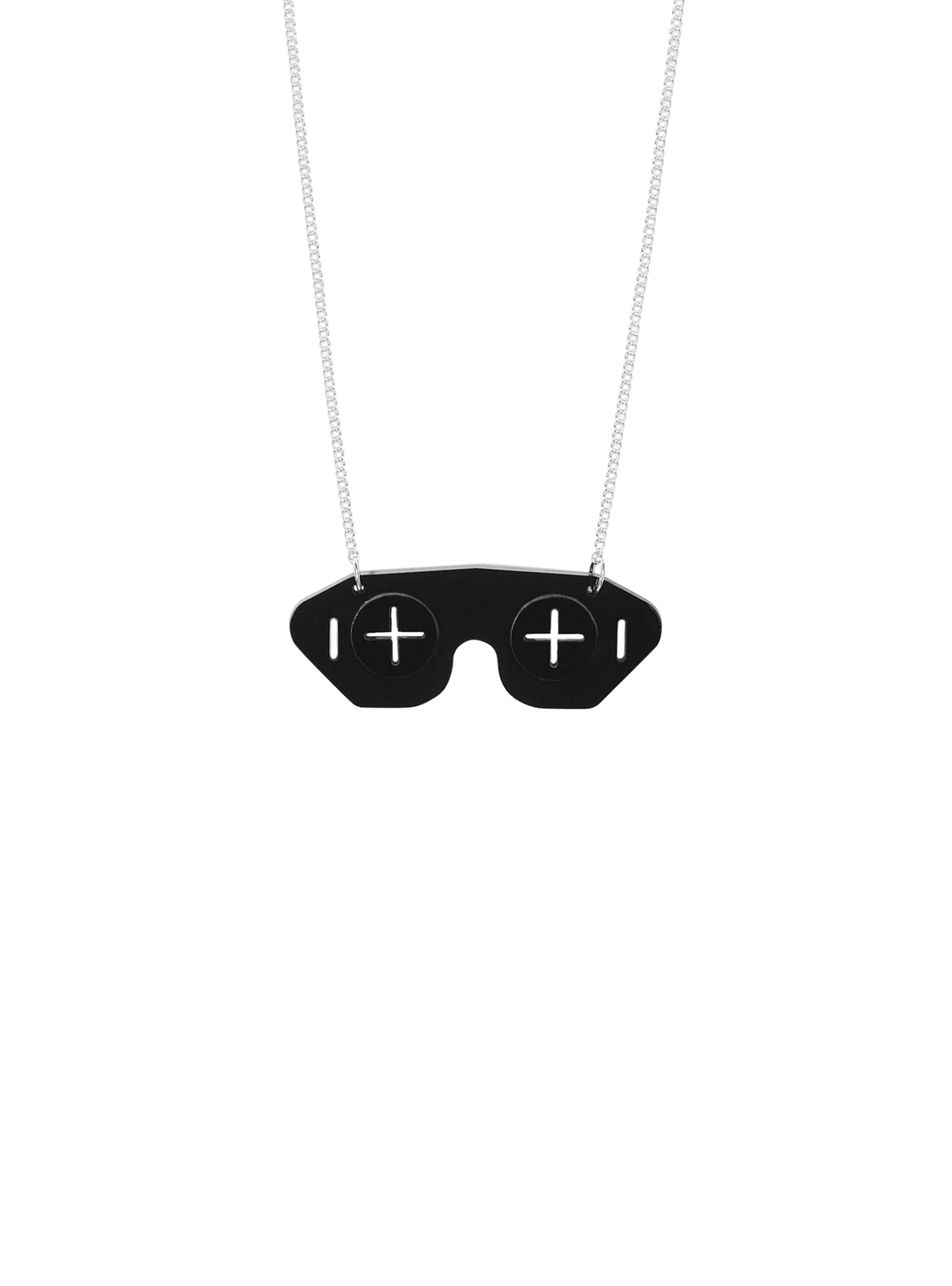 War-Correspondent-Mask-Necklace