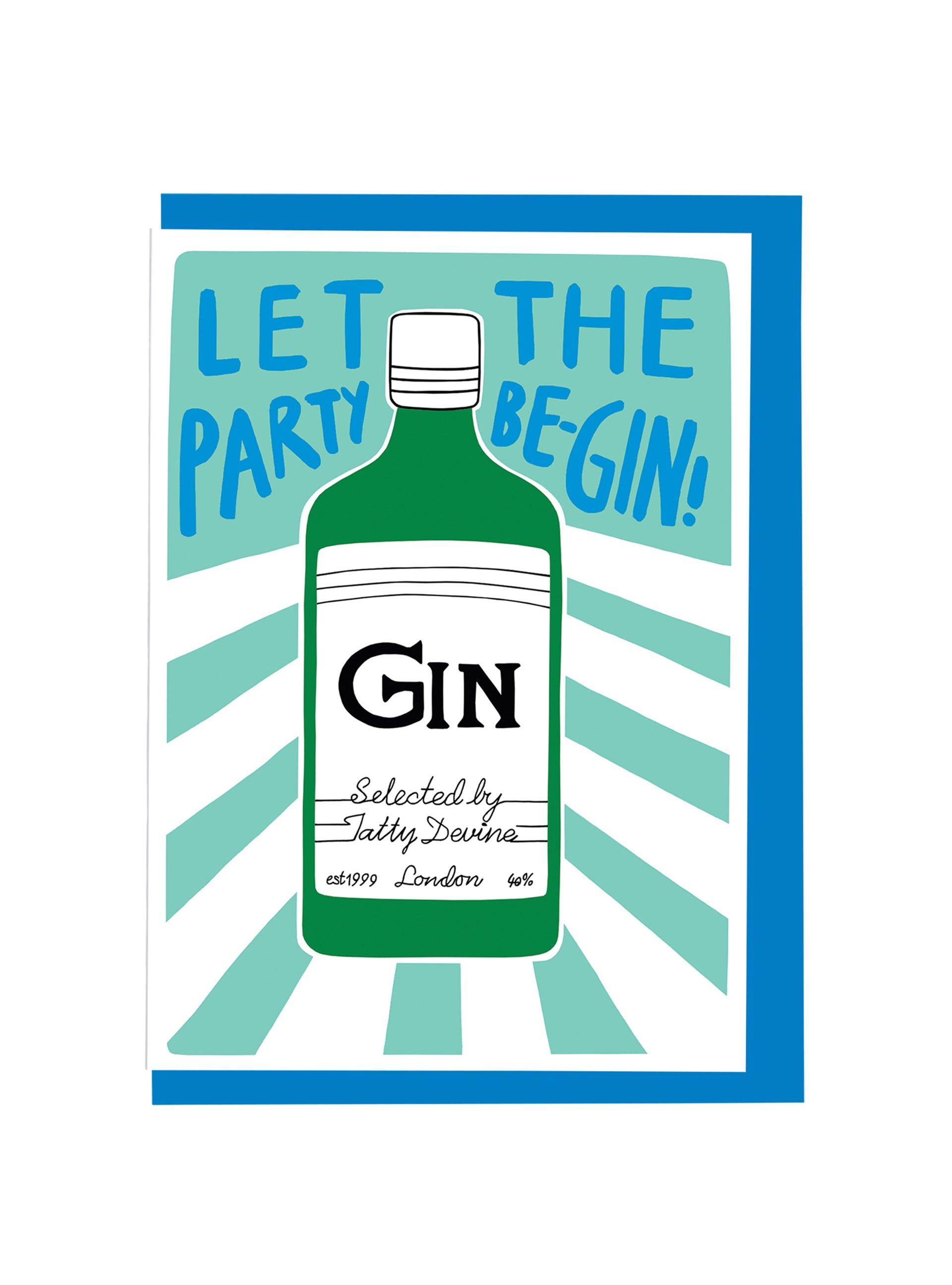 Alison Hardcastle Gin Party Card