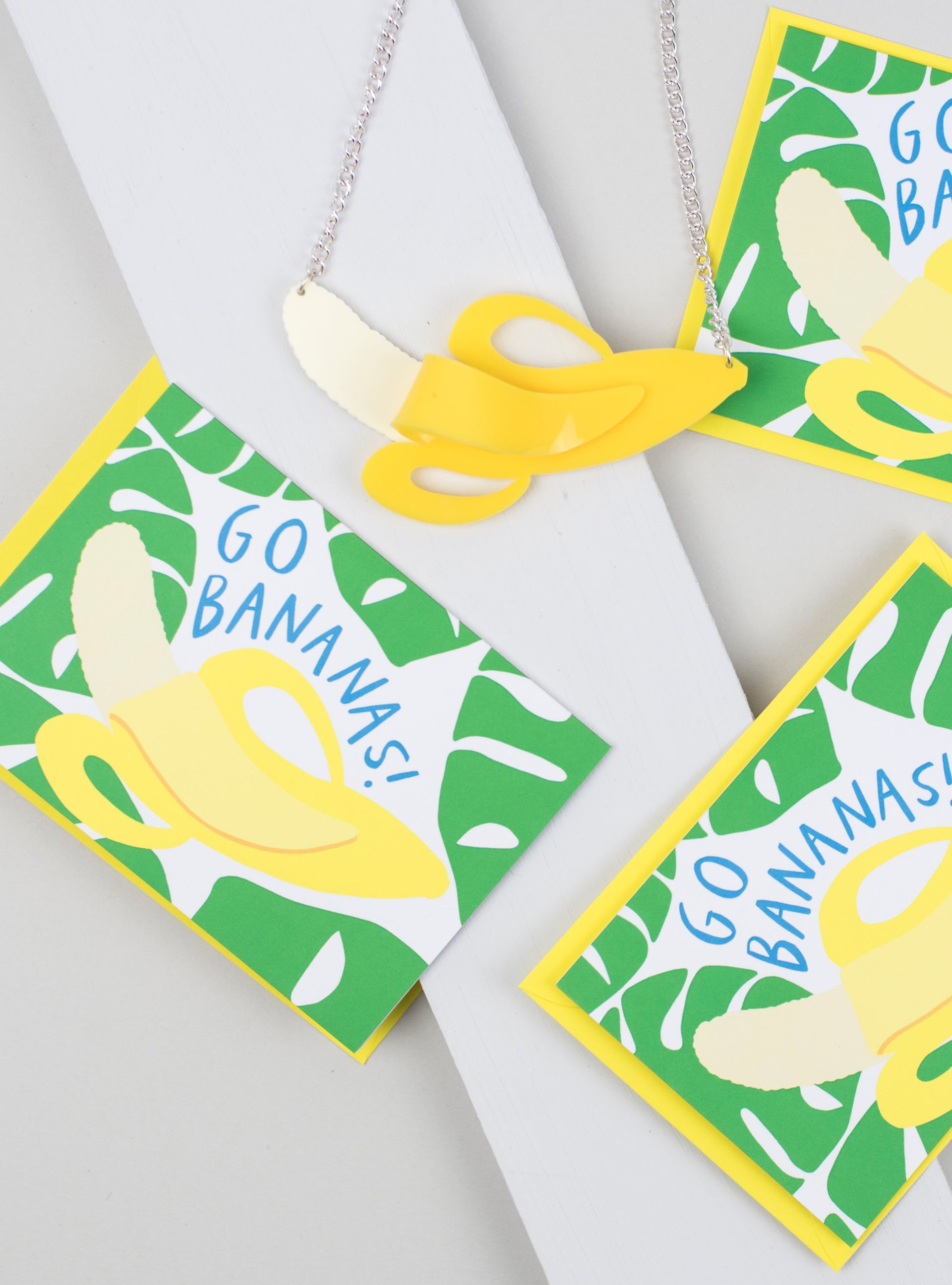 Alison Hardcastle Go Bananas Card