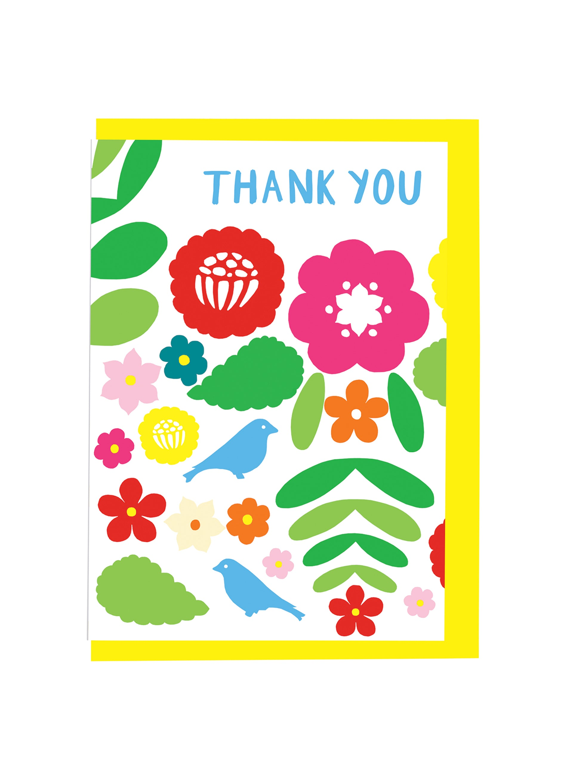 Alison Hardcastle Mexican Embroidery Thank You Card