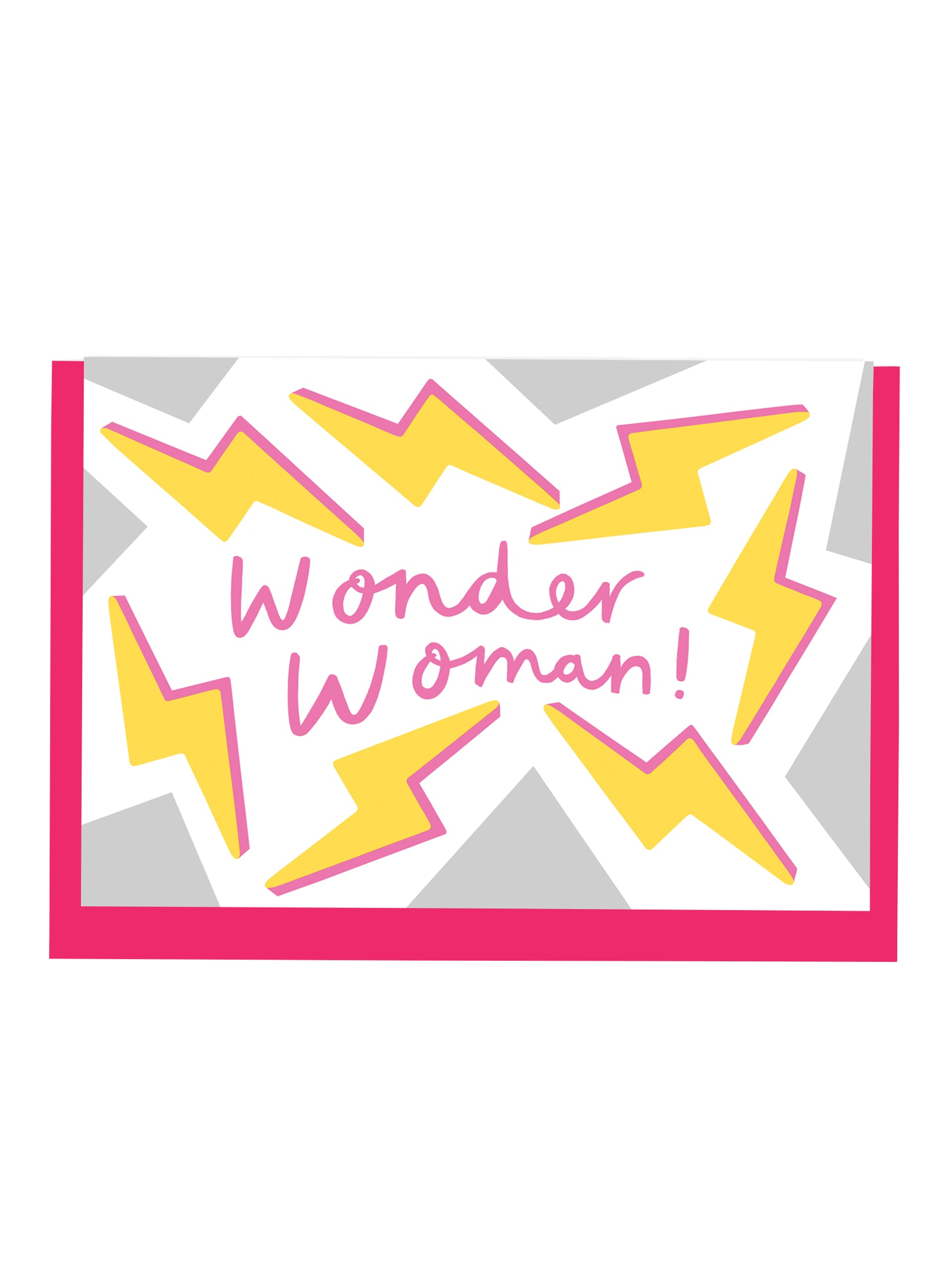 Alison Hardcastle Wonder Woman Card