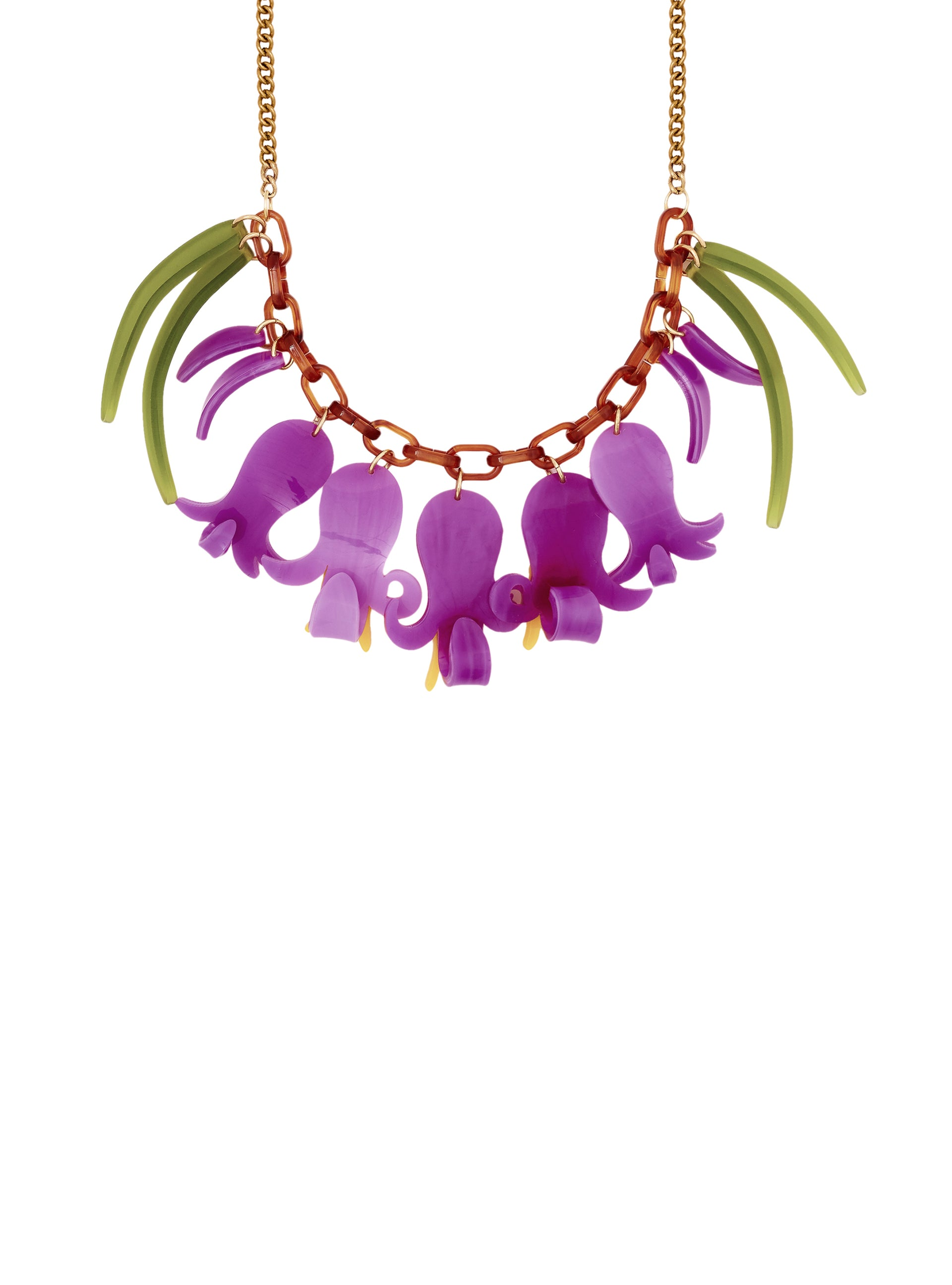 Bluebell Wood Necklace