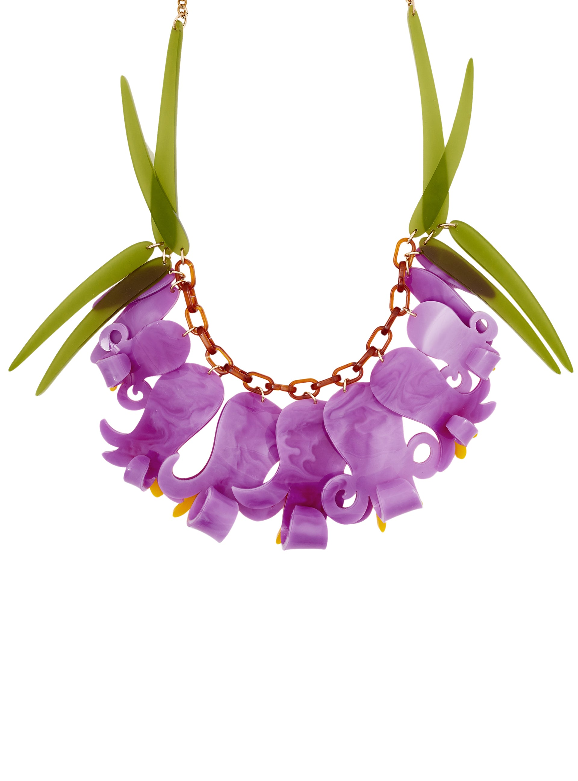 Bluebell Wood Statement Necklace