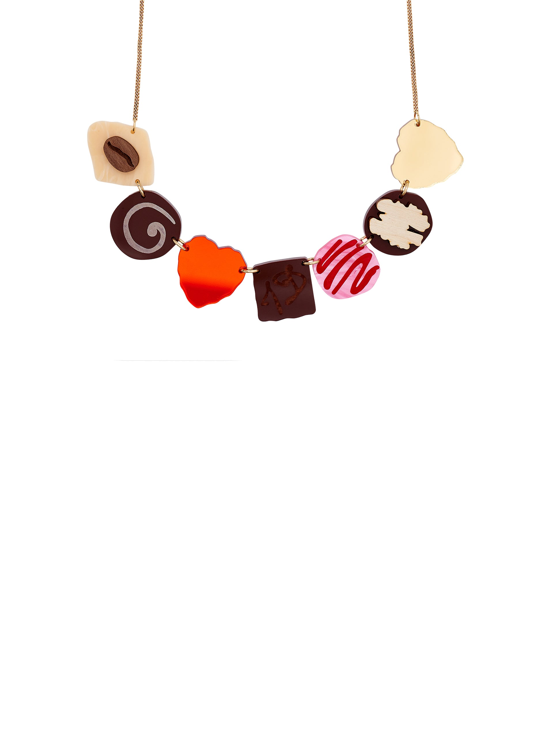 Chocolate Box Necklace