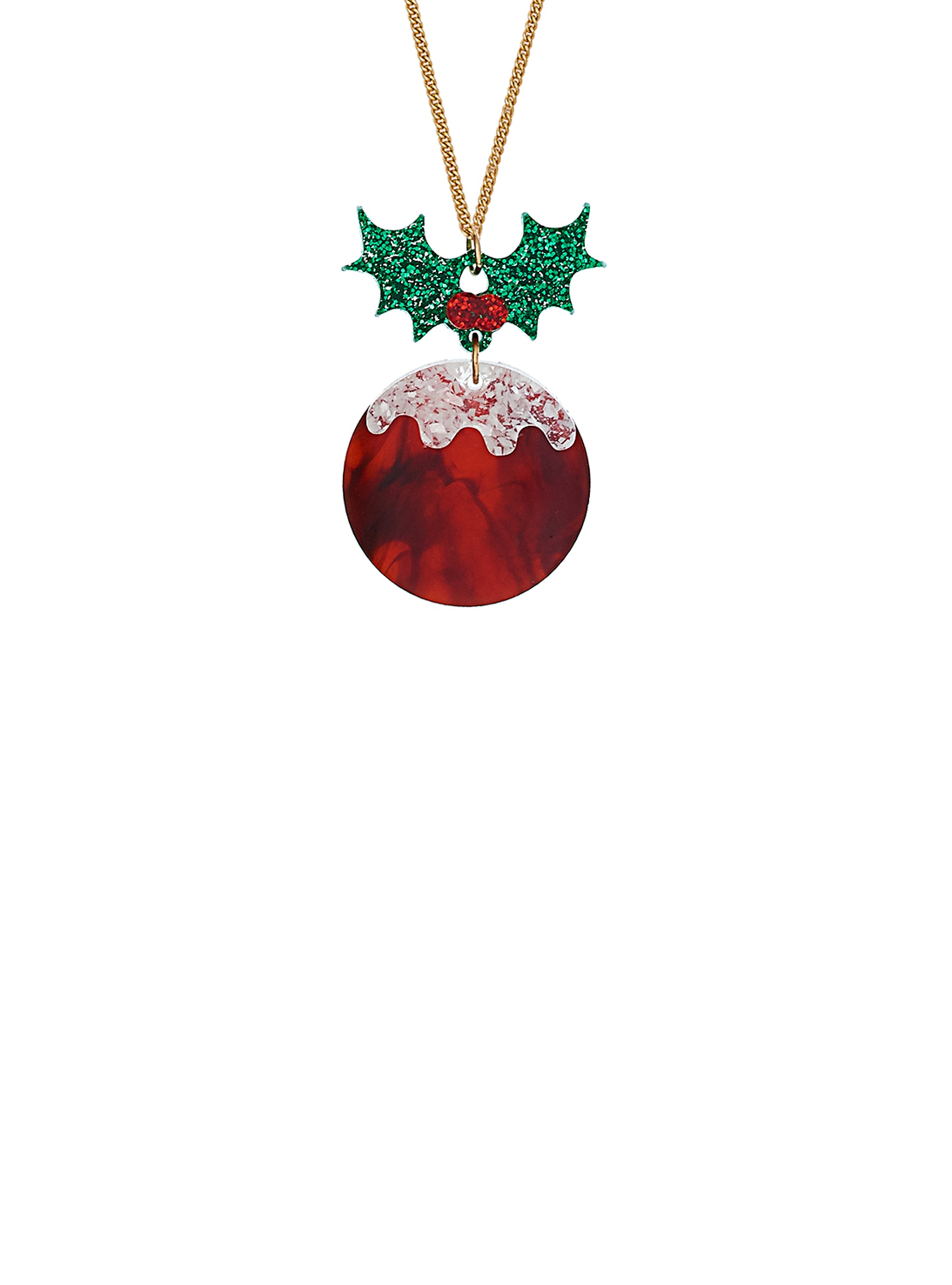 Christmas Pudding Pendant