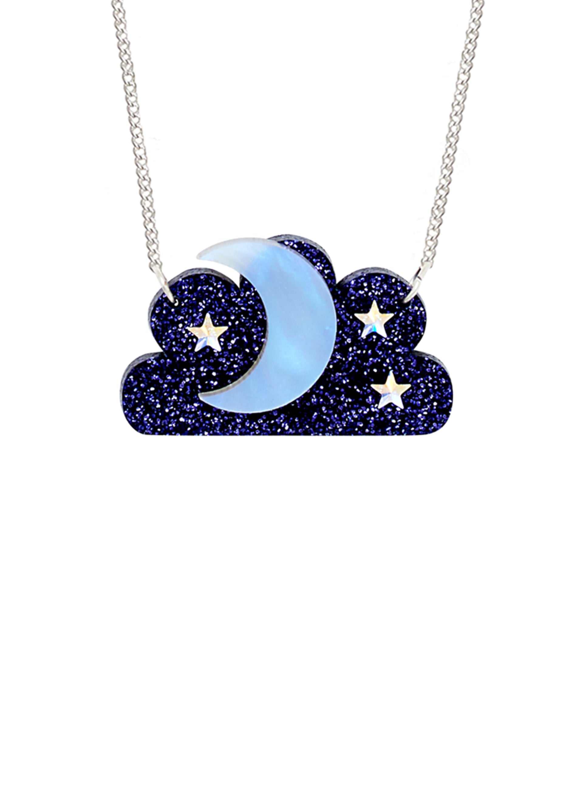 Cosmic Cloud Necklace
