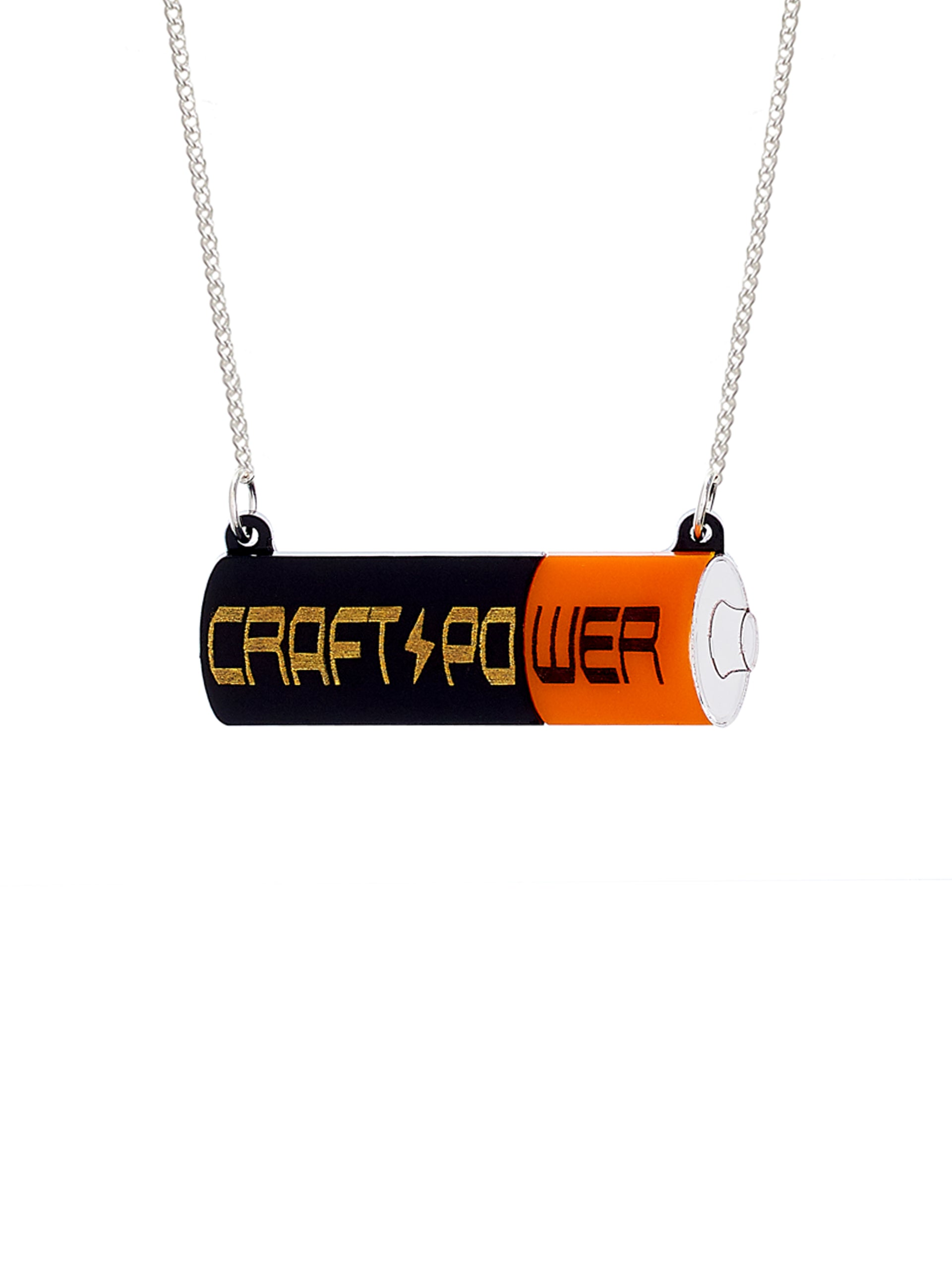 Craft Power Battery Necklace