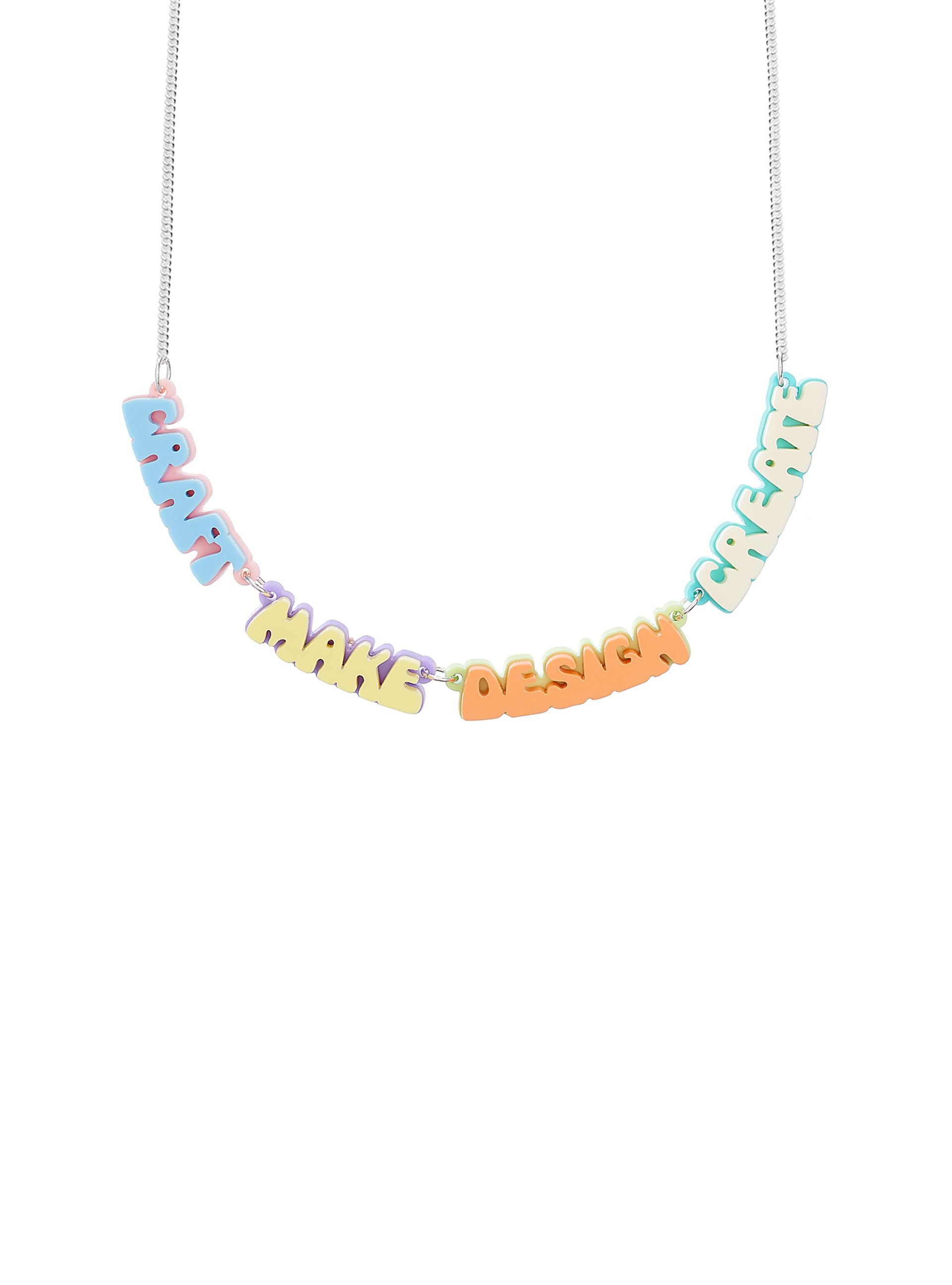 Creative Words Necklace
