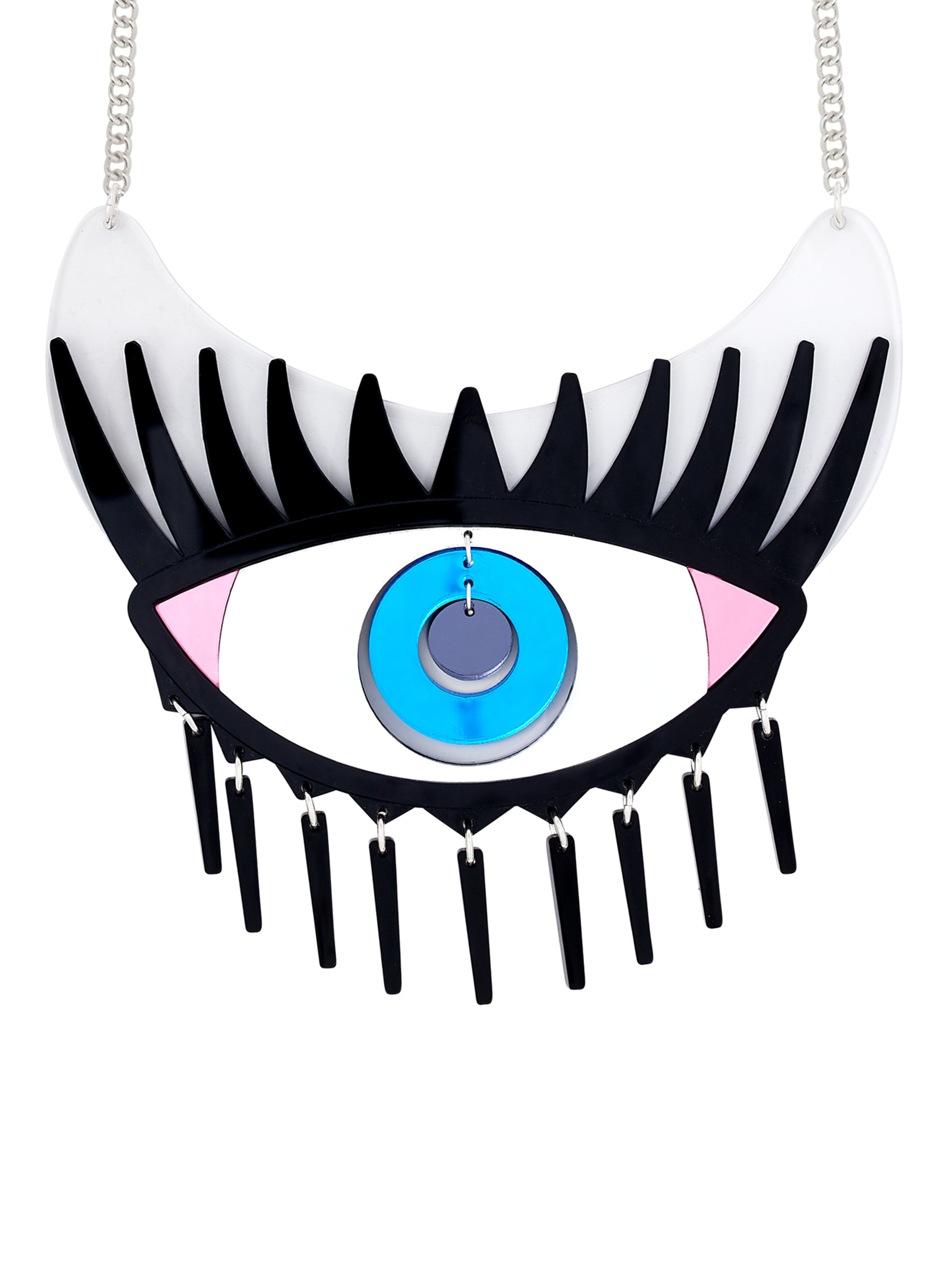 cyclops eye necklace