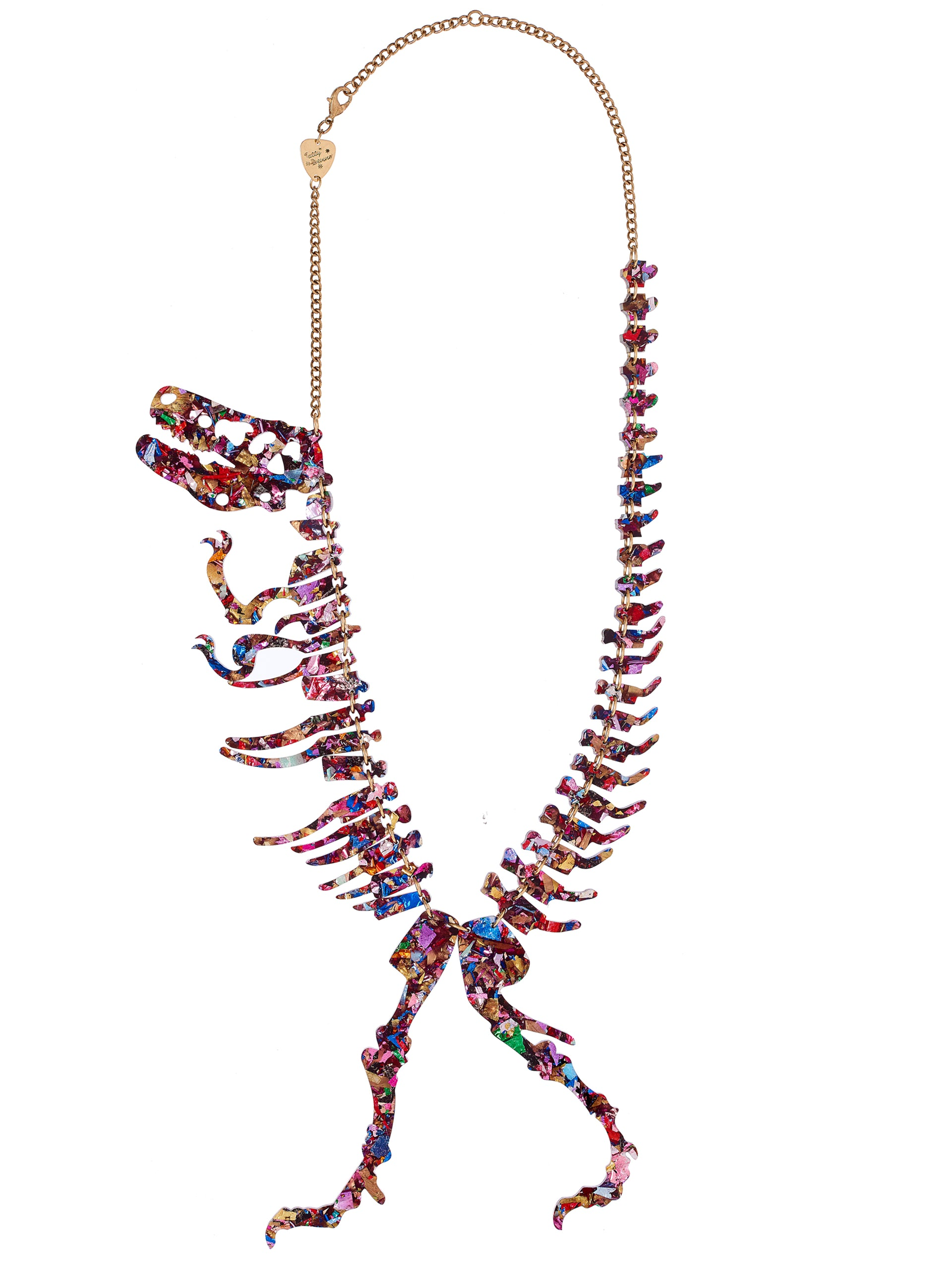 Giant Dinosaur Necklace Workshop - Foil Fossil - Lethaby Gallery