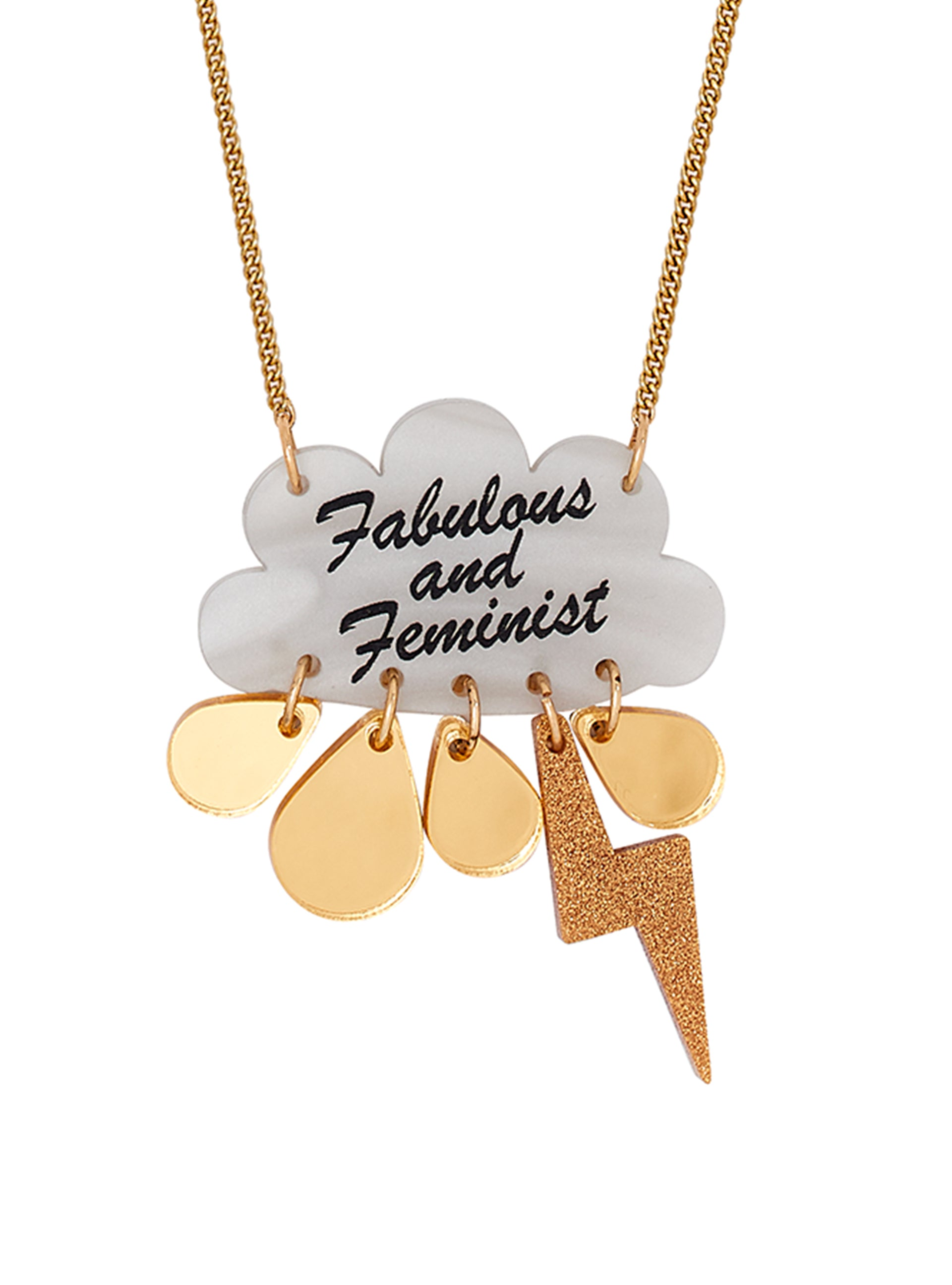 Fabulous and Feminist Necklace