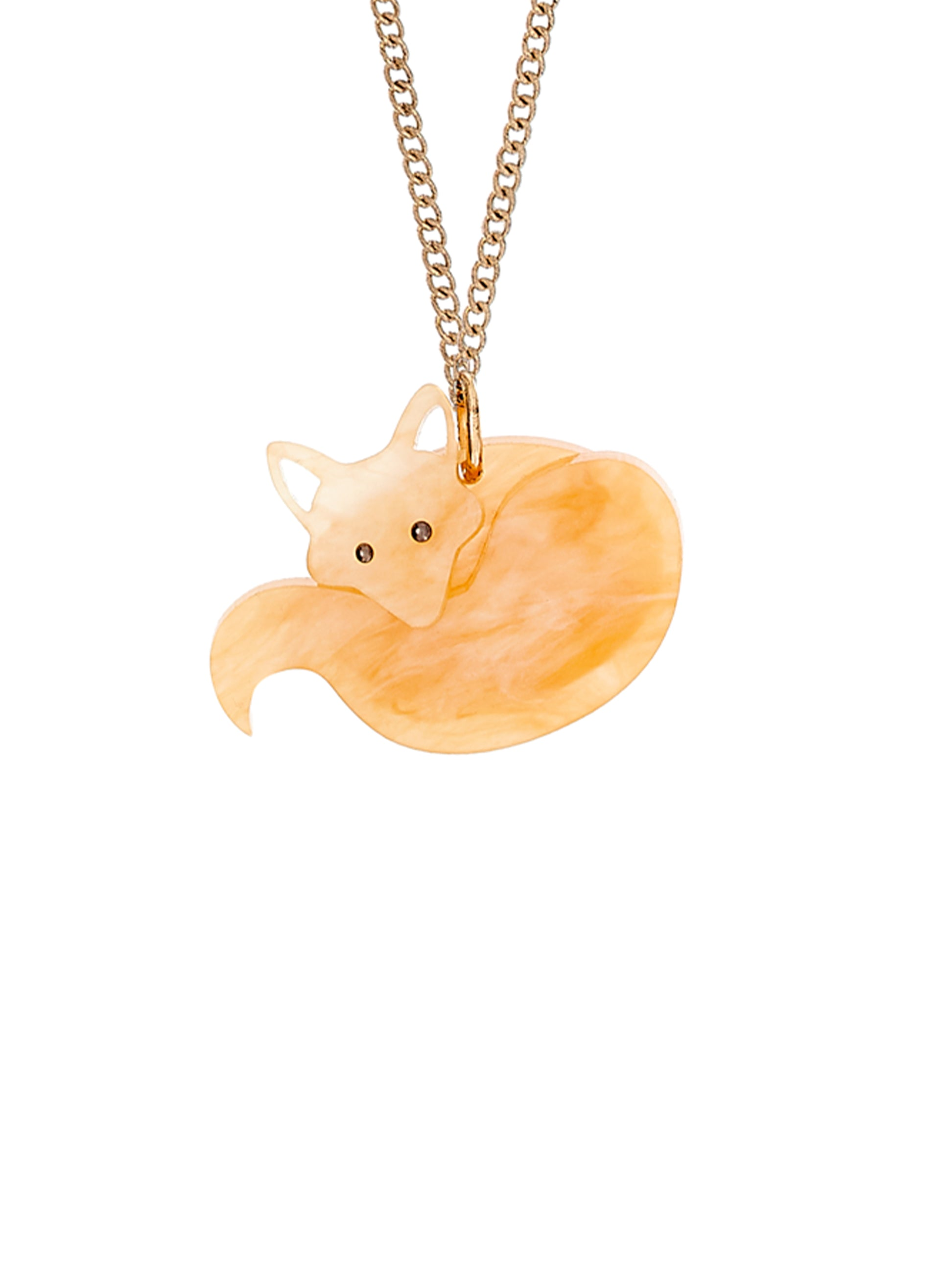 Fox Necklace - Honey