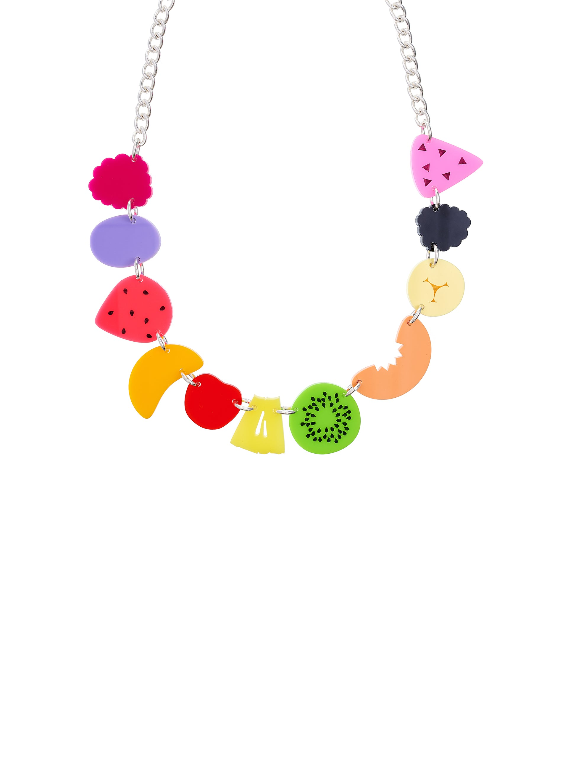 Fruit Cocktail Statement Necklace