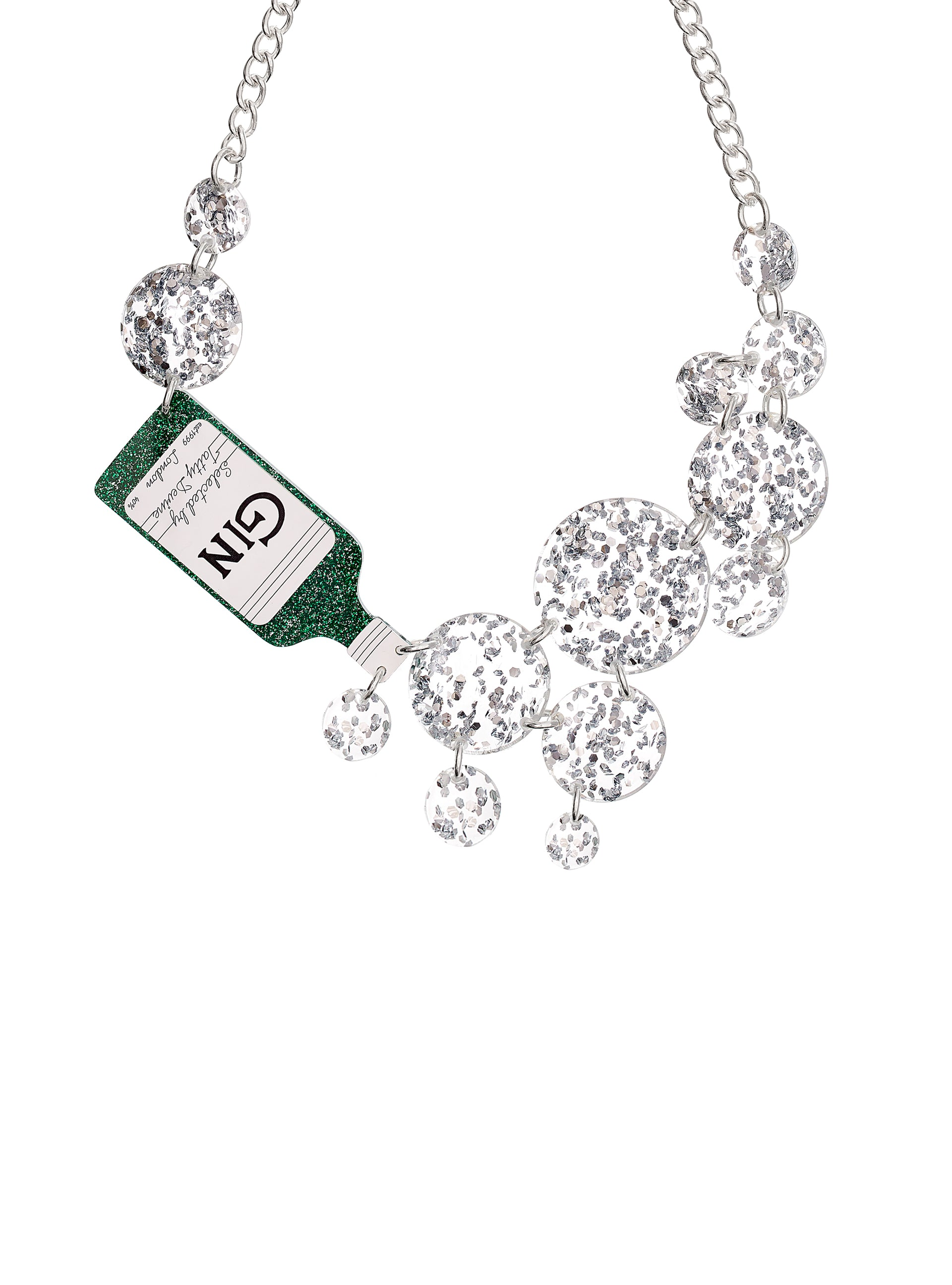 Gin Fizz Statement Necklace
