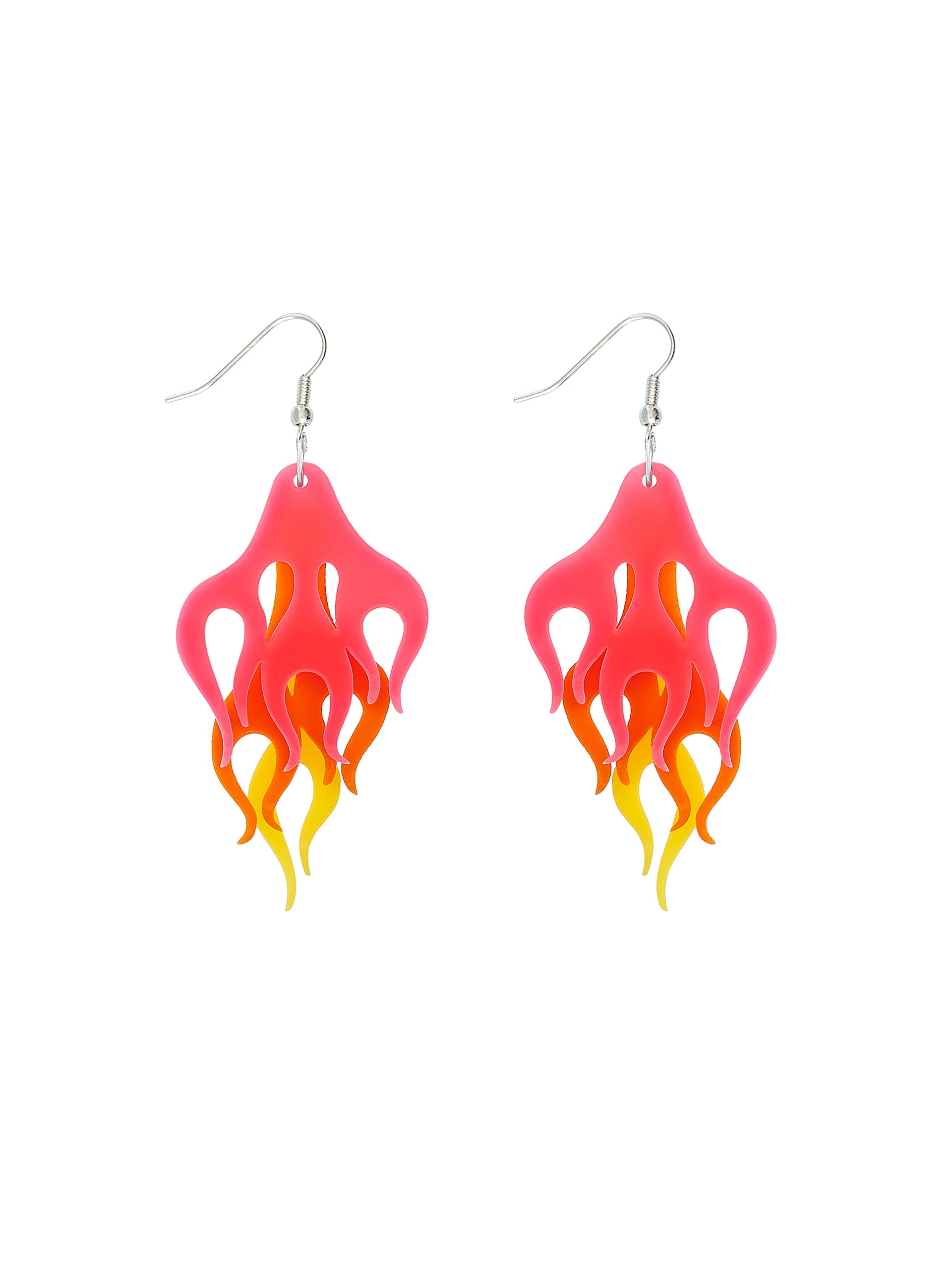 Hot Rod Flame Earrings