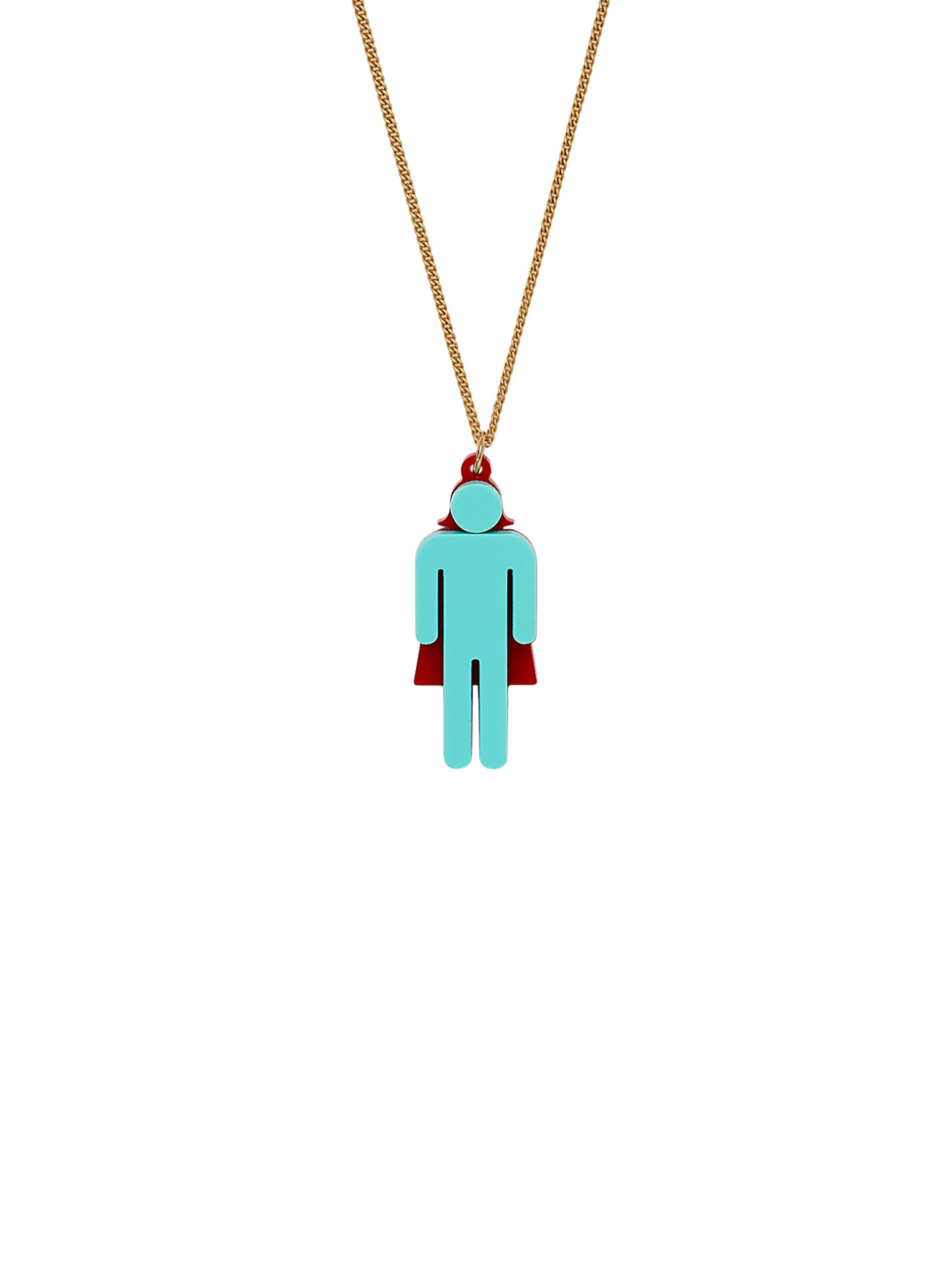 Invisible Woman Necklace