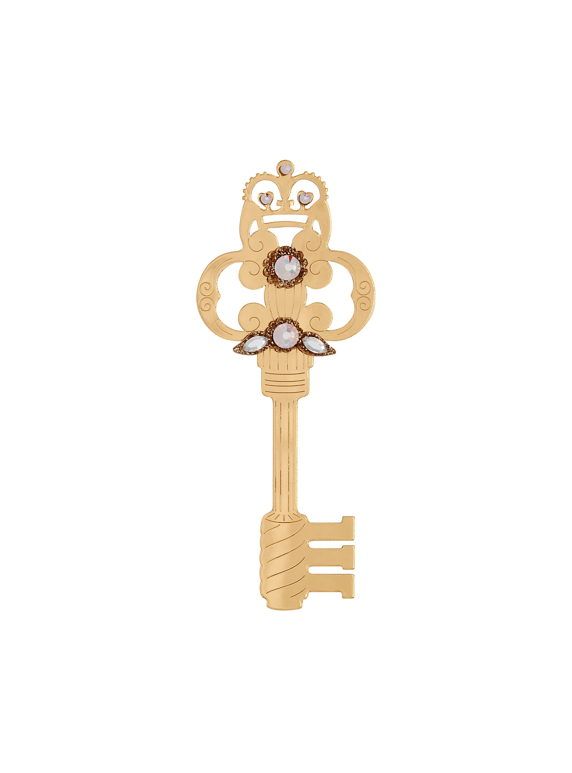 key brooch