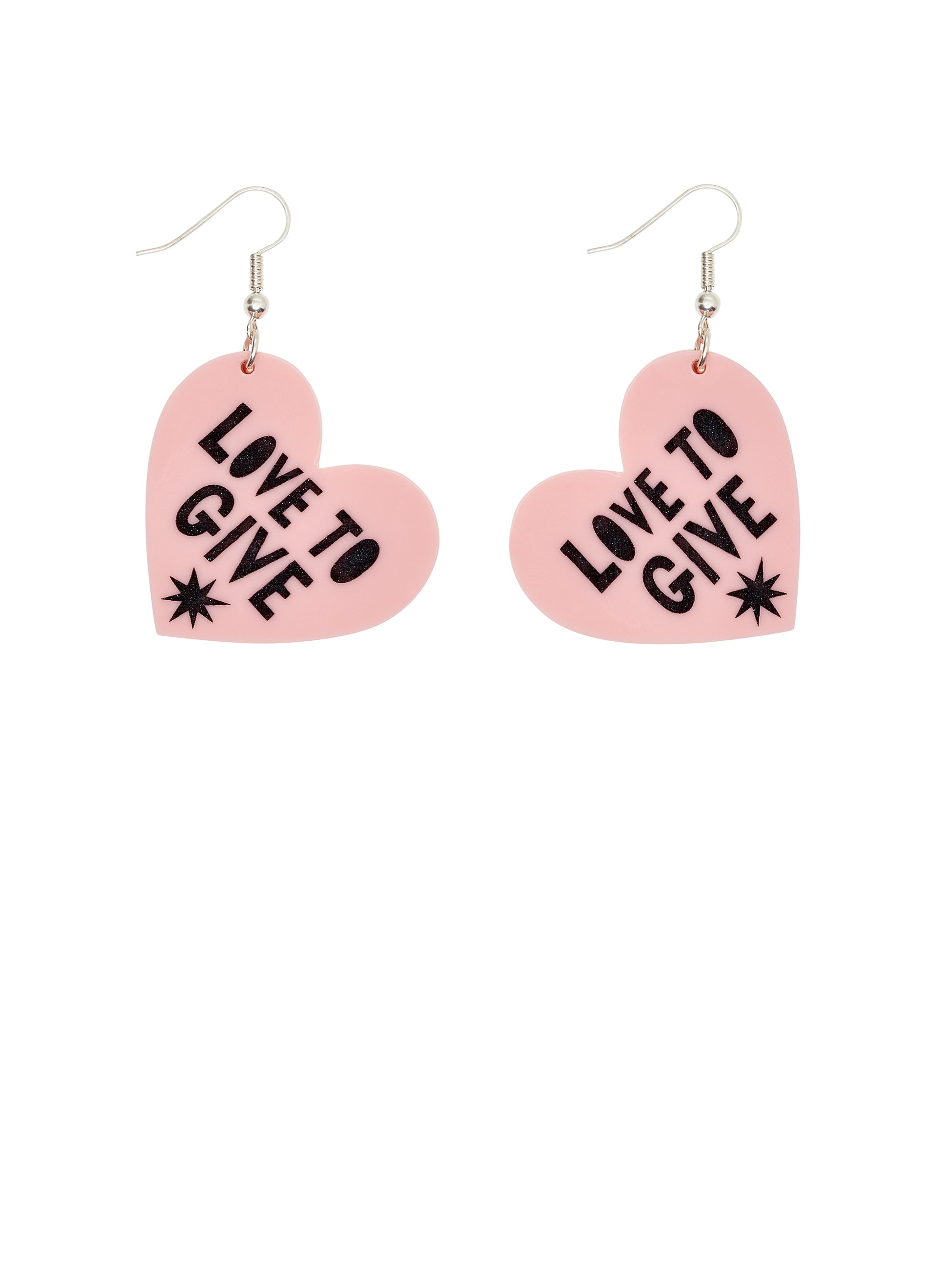 Love To Give Heart Earrings