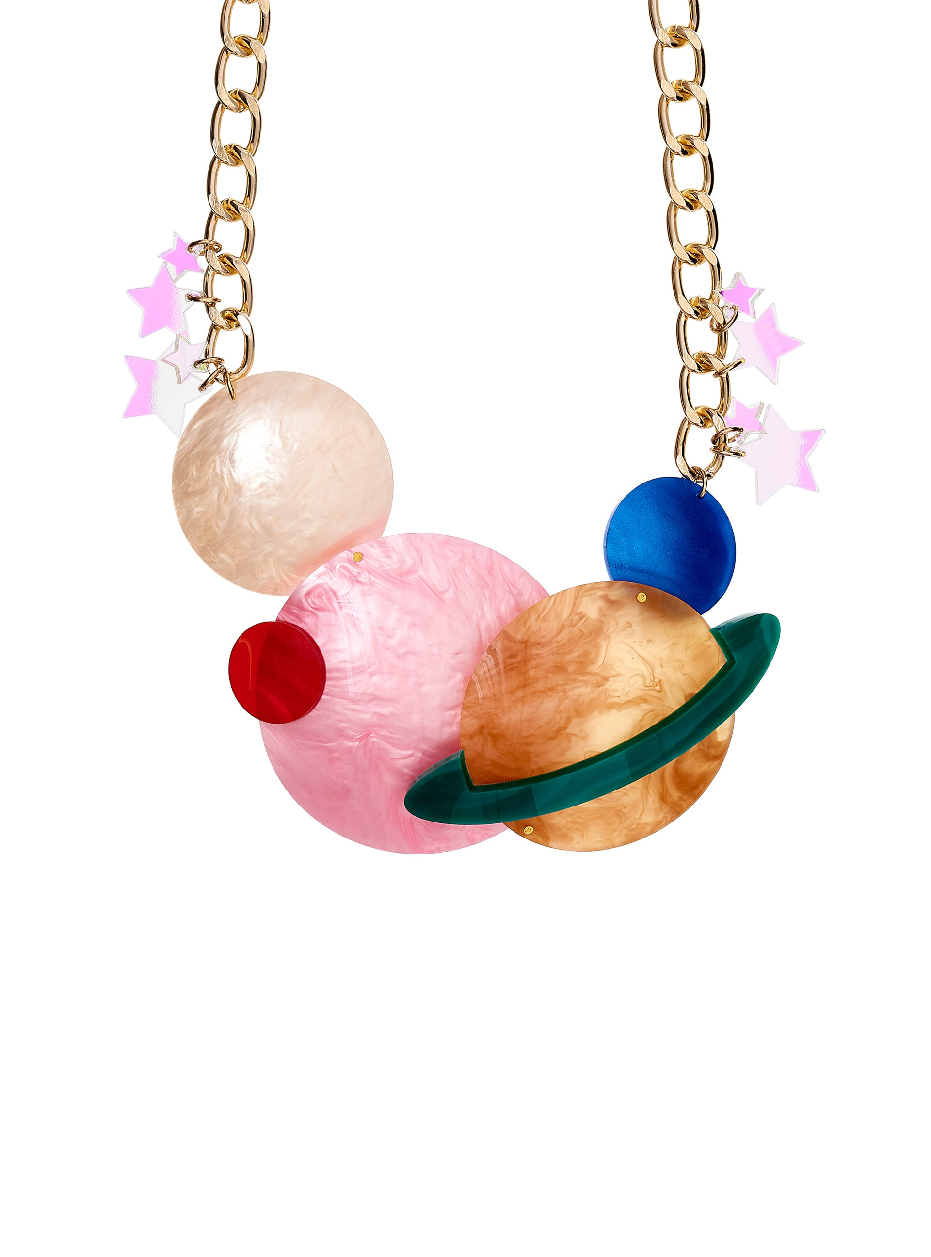 Planets Statement Necklace
