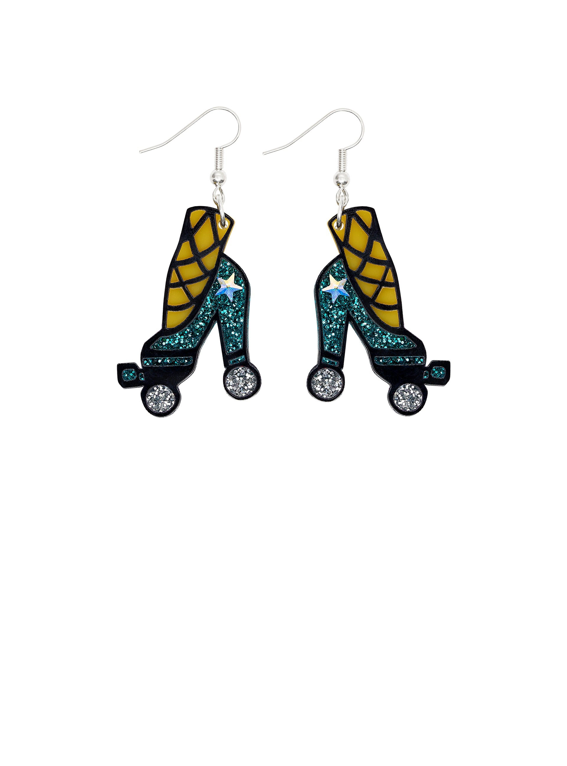 Roller Heels Earrings
