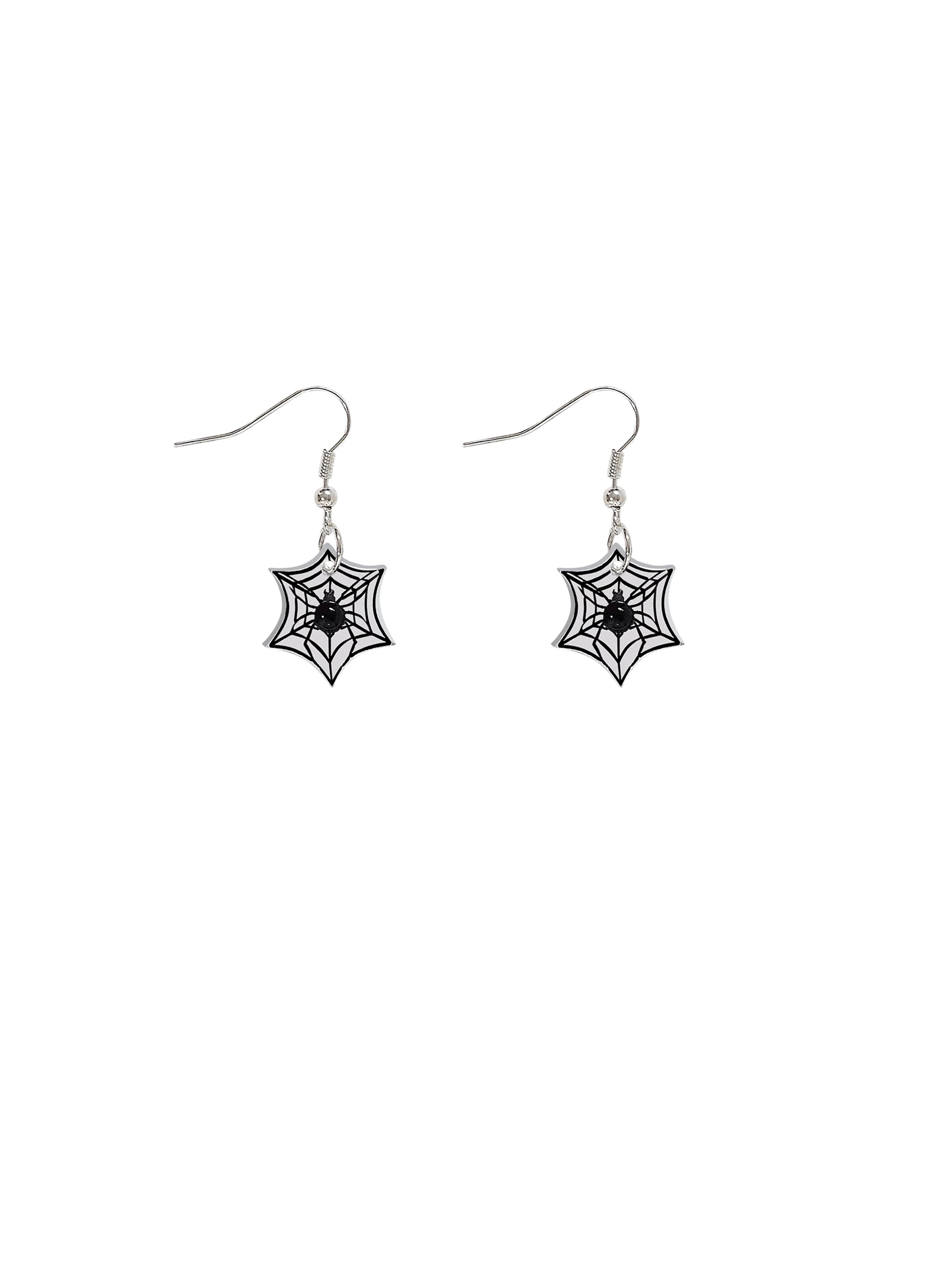Spinning Spider Earrings