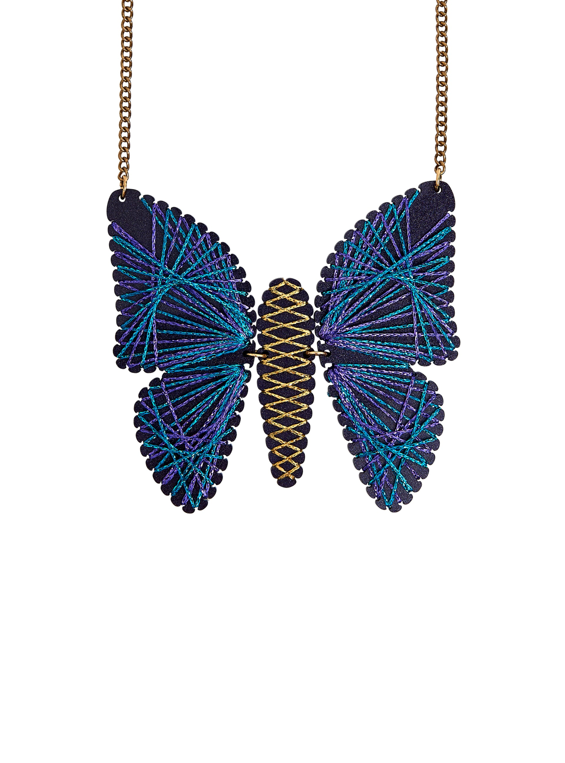 Symmography Butterfly Necklace