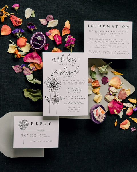 OJD | Pittsburgh, PA Calligraphy, Handlettering, Stationery