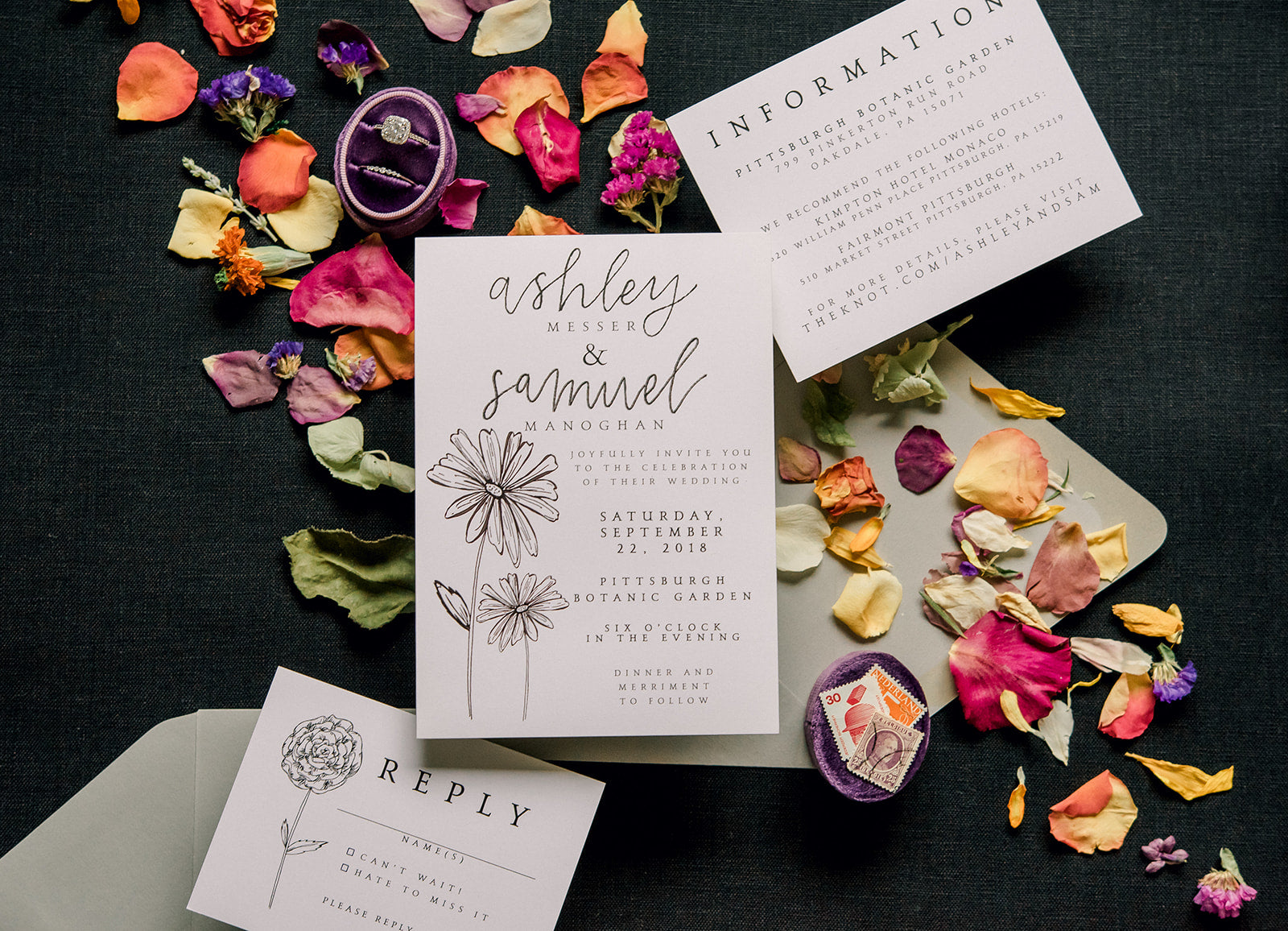 custom wedding stationery artful wedding stationery east coast weddings midwest weddings pennsylvania wedding stationery oh joyful day pittsburgh weddings