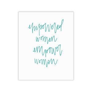 Empowered Women Print