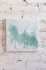 Happy Little Trees Abstract - Original Artwork