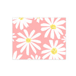 oh joyful day daisy print floral greeting card