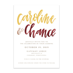 watercolor lettering wedding invitation fall wedding invitation wedding invitation simple wedding invitation modern wedding invitation Pittsburgh wedding invitation Pittsburgh weddings Pittsburgh wedding vendors watercolor wedding invitation wedding invitation navy wedding invitation custom wedding invitation hand lettered wedding invitation Pittsburgh paper goods wedding paper goods Pittsburgh artist Pittsburgh wedding art