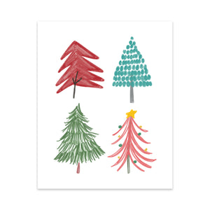 christmas decor christmas decoration christmas artwork illustration oh joyful day art pittsburgh artwork pittsburgh art christmas illustration christmas flowers christmas print christmas art christmas card
