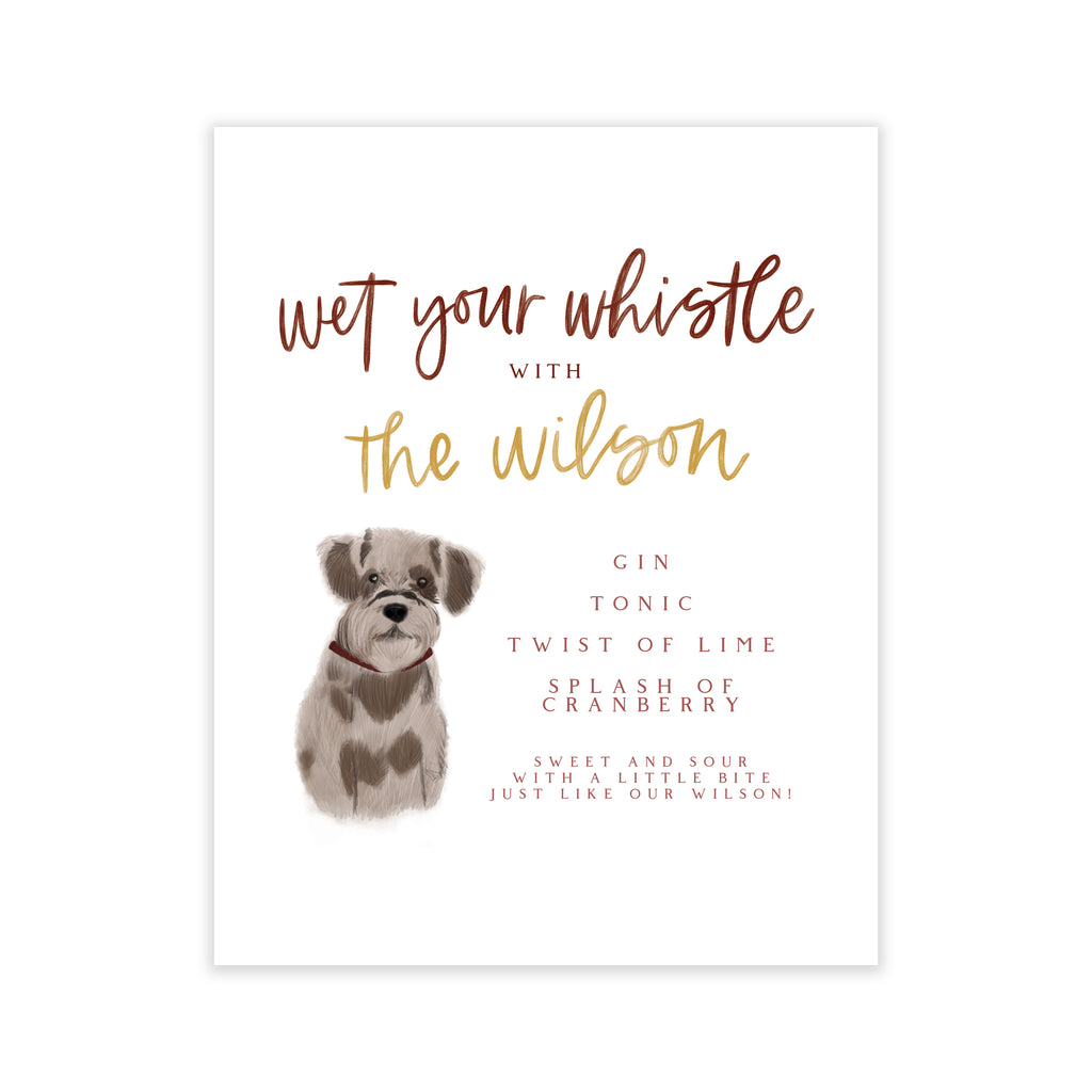 Oh Joyful Day Wedding Day Print Cards and Gifts Print Wedding Day Art Wedding Decorations Watercolor Wedding decorations wedding print wedding day print Champagne bar print champagne bar decorations custom pet portrait signature drink bar sign pet illustration dog illustration