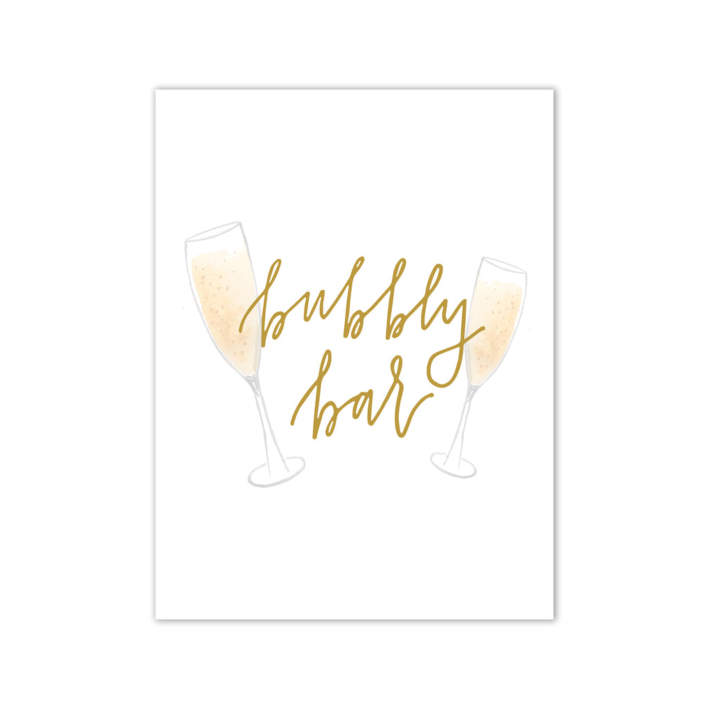 Oh Joyful Day Wedding Day Print Cards and Gifts Print Wedding Day Art Wedding Decorations Watercolor Wedding decorations wedding print wedding day print Champagne bar print champagne bar decorations watercolor Champagne glass