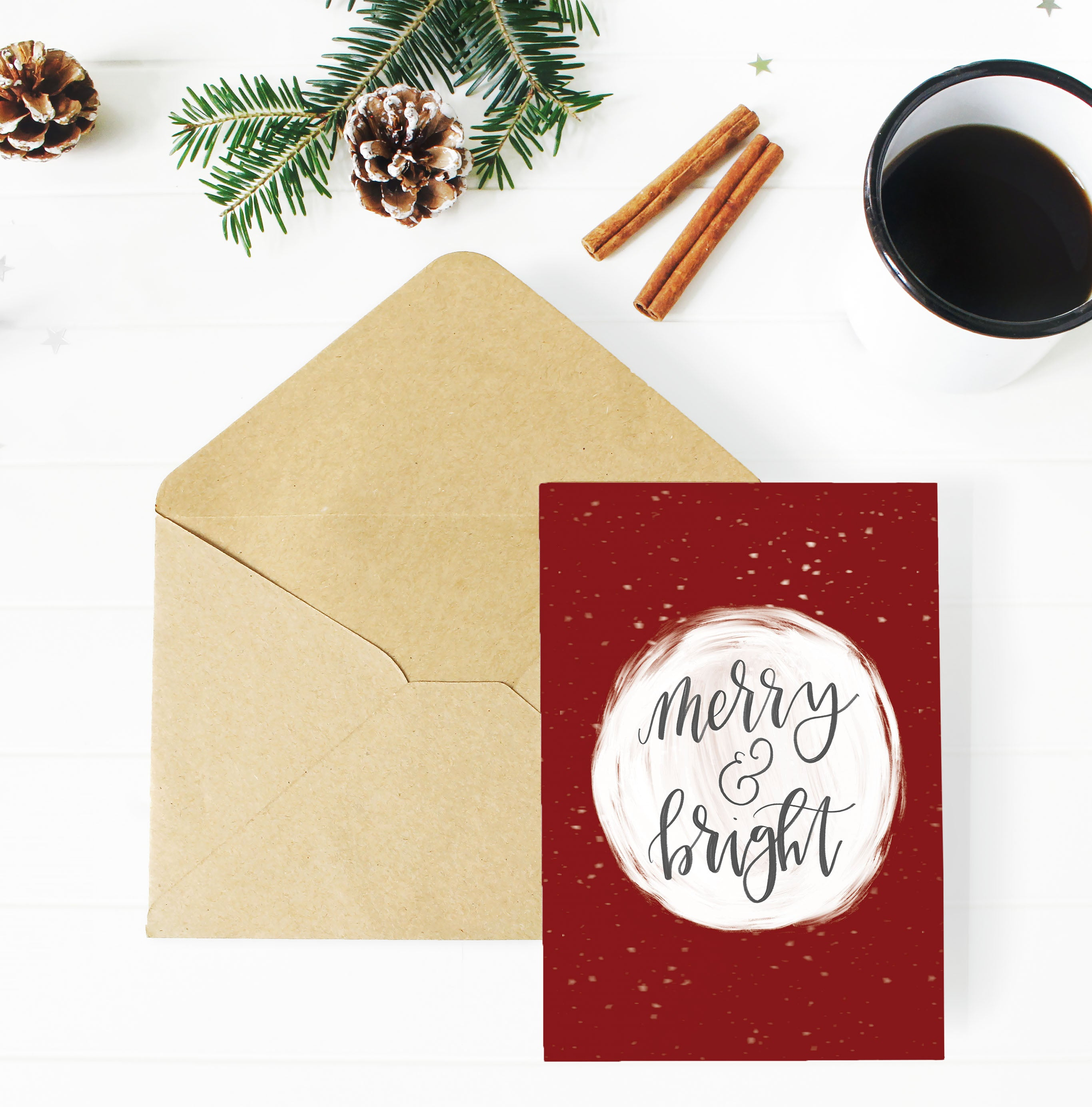 christmas, Christmas card, handmade Christmas card, whimsical Christmas card, hand lettered Christmas card, hand lettering, handlettered Christmas card, fun Christmas card, Christmas card set, handmade Christmas card sets, small business Christmas, Pittsburgh Christmas cards, Pittsburgh Christmas art, oh joyful day, merry and bright,
