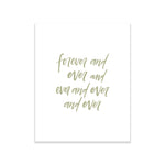 Oh Joyful Day Wedding Day Print Cards and Gifts Print Wedding Day Art Wedding Decorations Watercolor Wedding decorations wedding print wedding day print love quote print love print love quote decoration forever and ever wedding day art