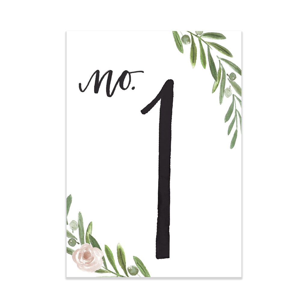 Oh Joyful Day Wedding Table Numbers Colorful table numbers wedding decorations jewel tone wedding jewel tone wedding decorations set of table numbers printed table numbers Pittsburgh weddings watercolor floral table numbers floral table numbers greenery table numbers watercolor wedding details