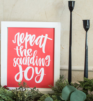 The Sounding Joy Print