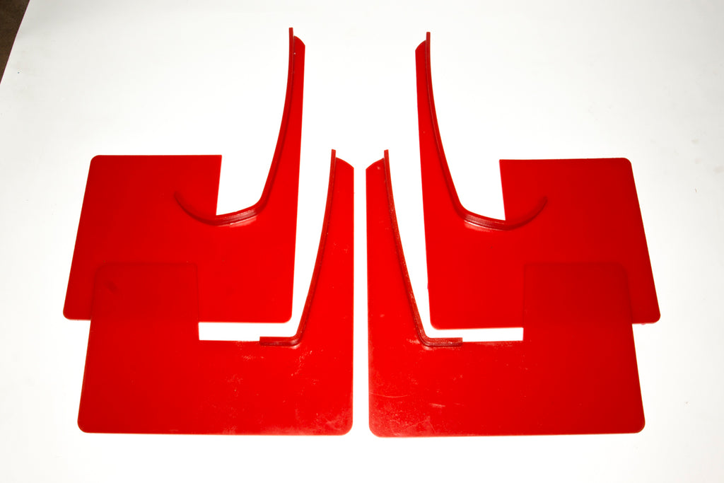Mudflap Set, Moulded, Lancer Evo X, group N,