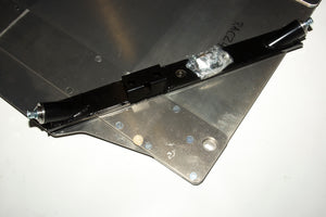 Sumpguard Assembly, Lancer Evo X, 5mm