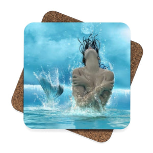 Square Hardboard Coaster Set - 4pcs-GranvilleDesigns