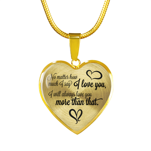 Mother to Daughter: I always love you more than that!-GranvilleDesigns