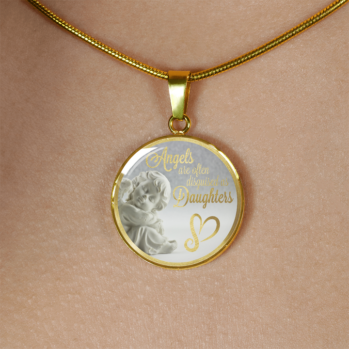 Mother to Daughter: Angels are often disguised as daughters-GranvilleDesigns