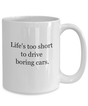 Car lovers coffee mug-GranvilleDesigns
